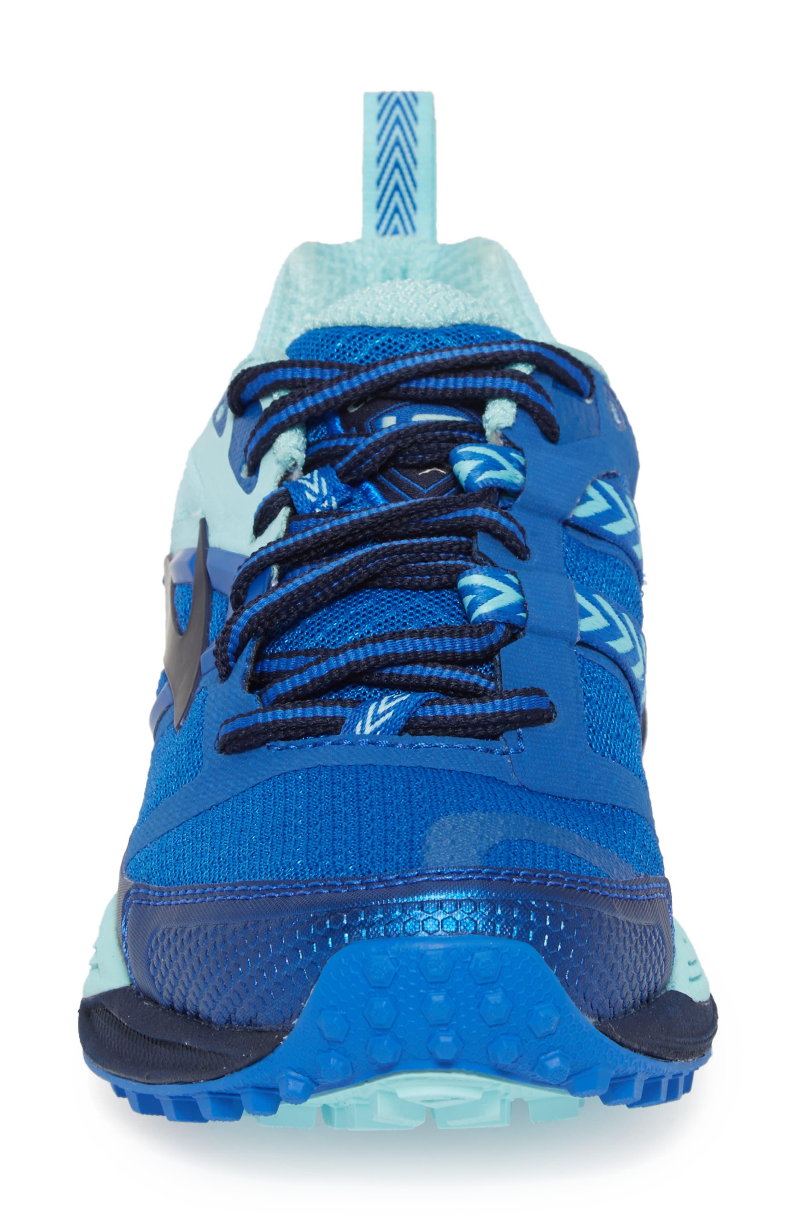 Cascadia 12 Trail Running Shoe,                             Alternate thumbnail 4, color,                             496