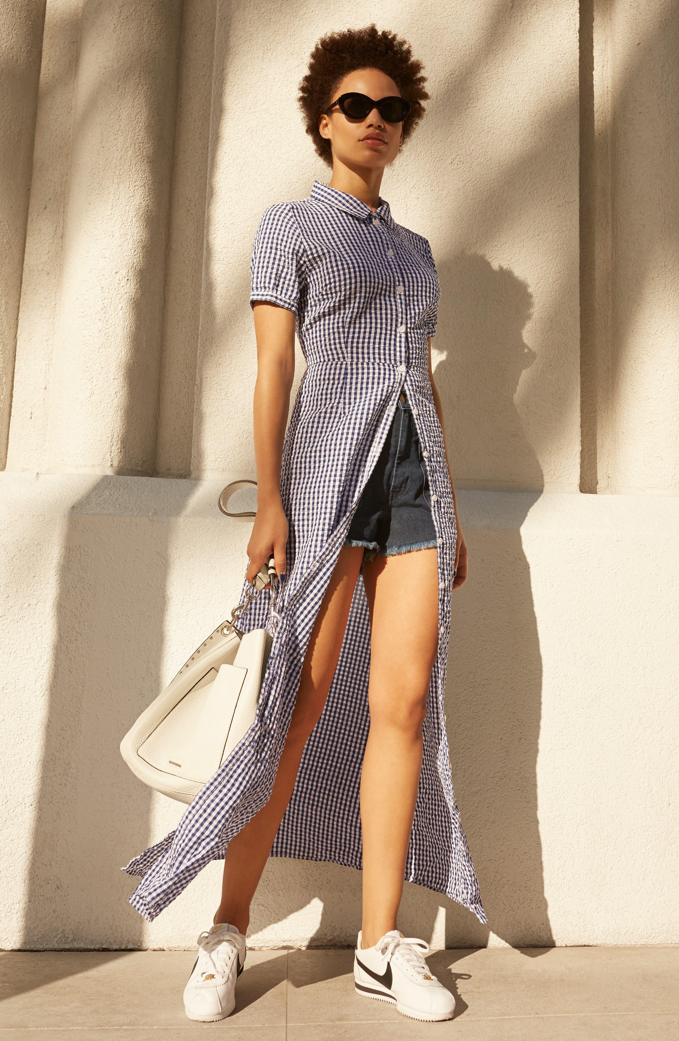 Blue Dawn Maxi Dress,                             Alternate thumbnail 4, color,                             452