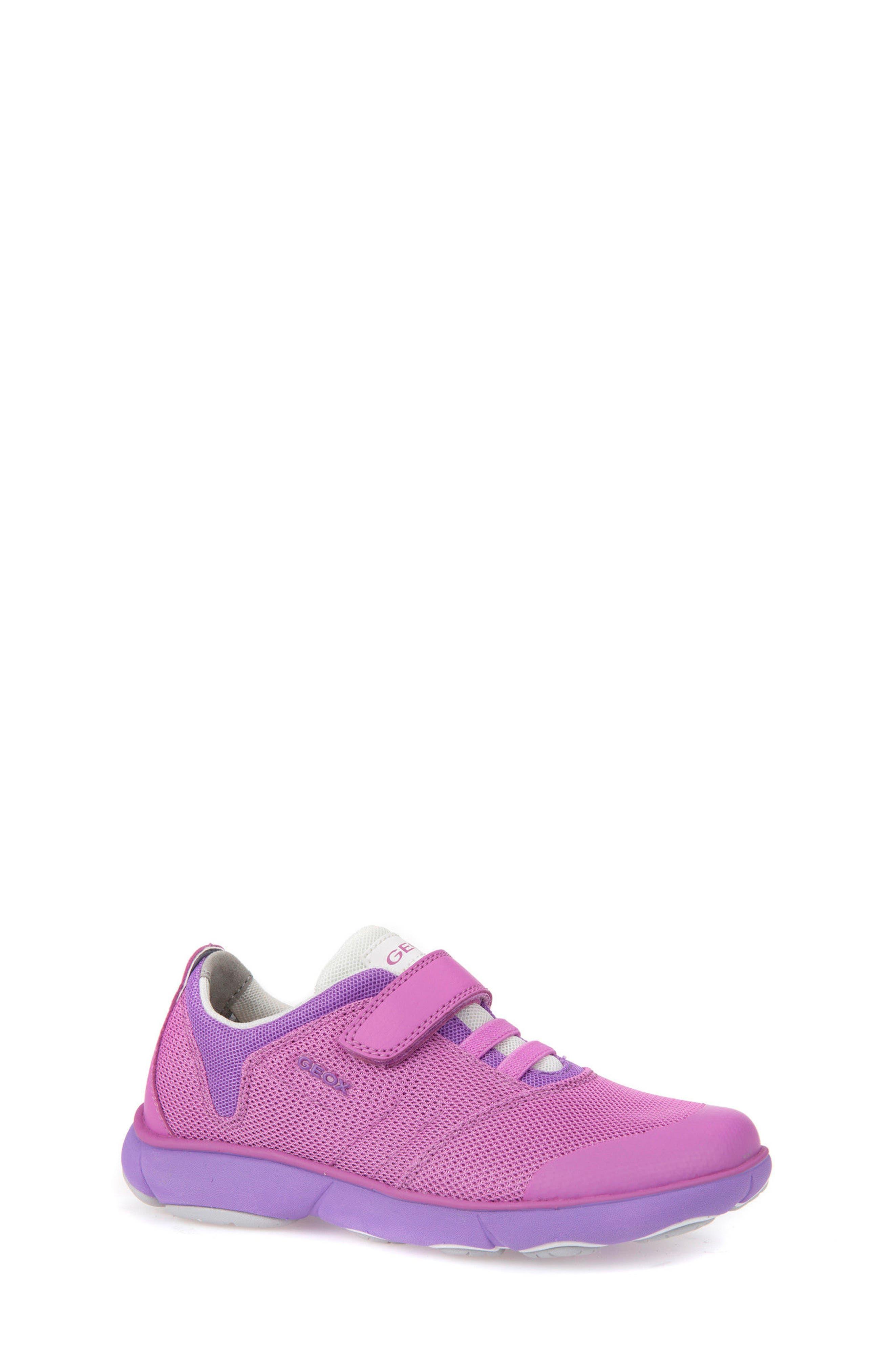 Jr Nebula Waterproof Sneaker,                         Main,                         color, FUCHSIA