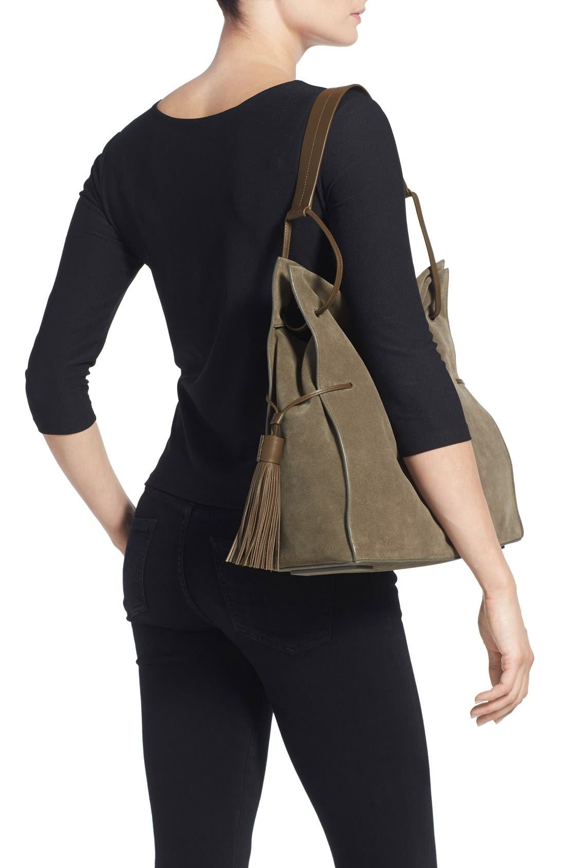Freedom Suede Hobo,                             Alternate thumbnail 30, color,