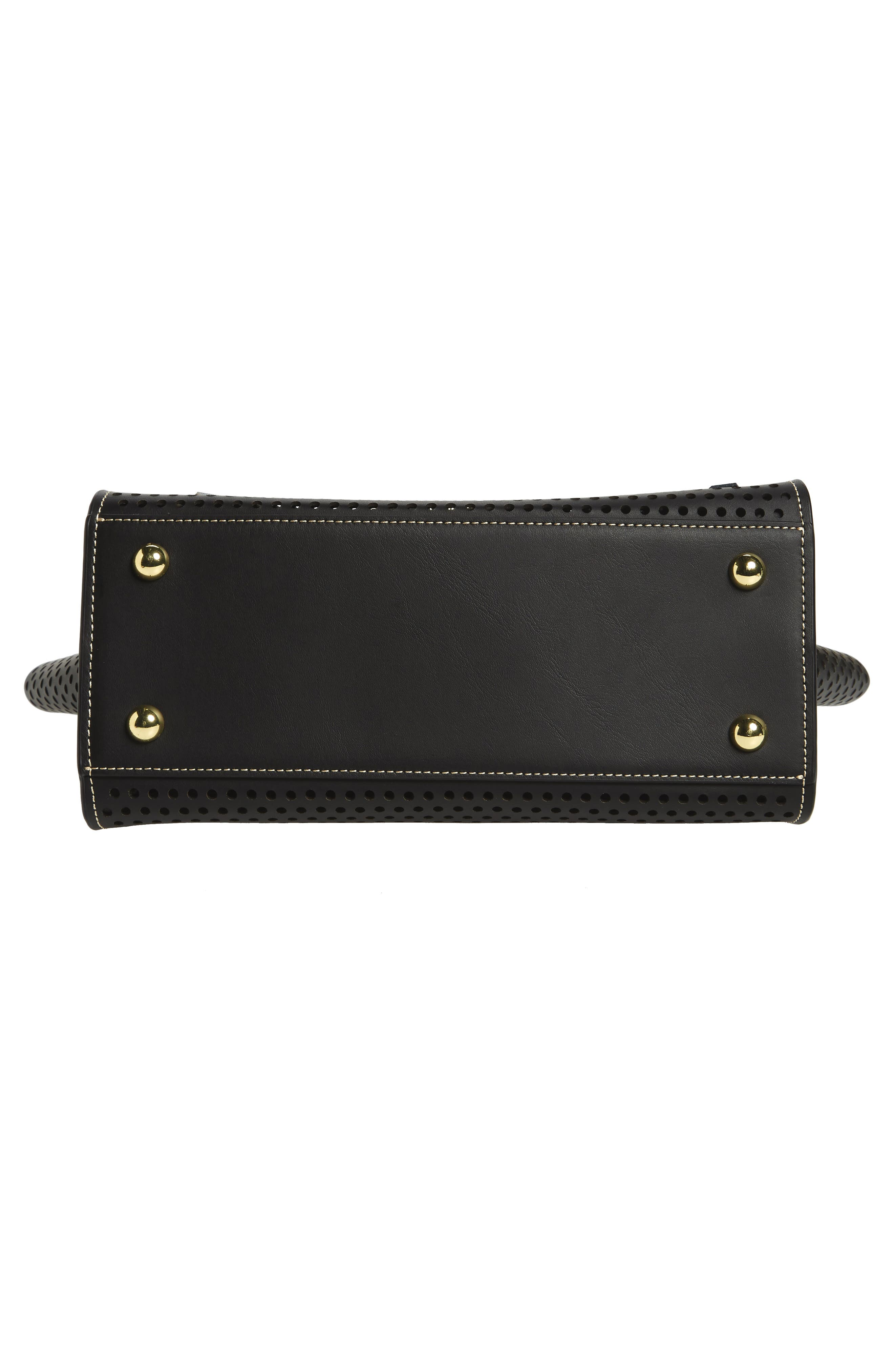 Eartha Kit Calfskin Leather Top Handle Satchel,                             Alternate thumbnail 11, color,