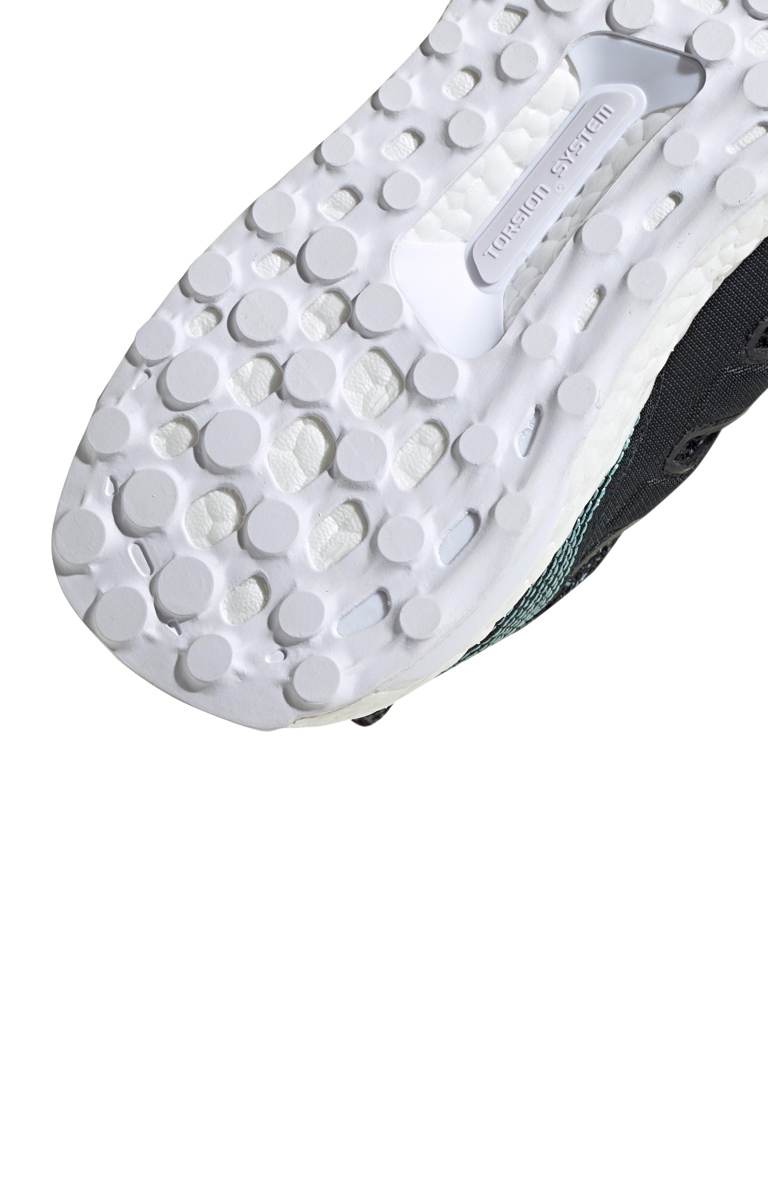 Parley UltraBoost Sneaker,                             Alternate thumbnail 9, color,                             001