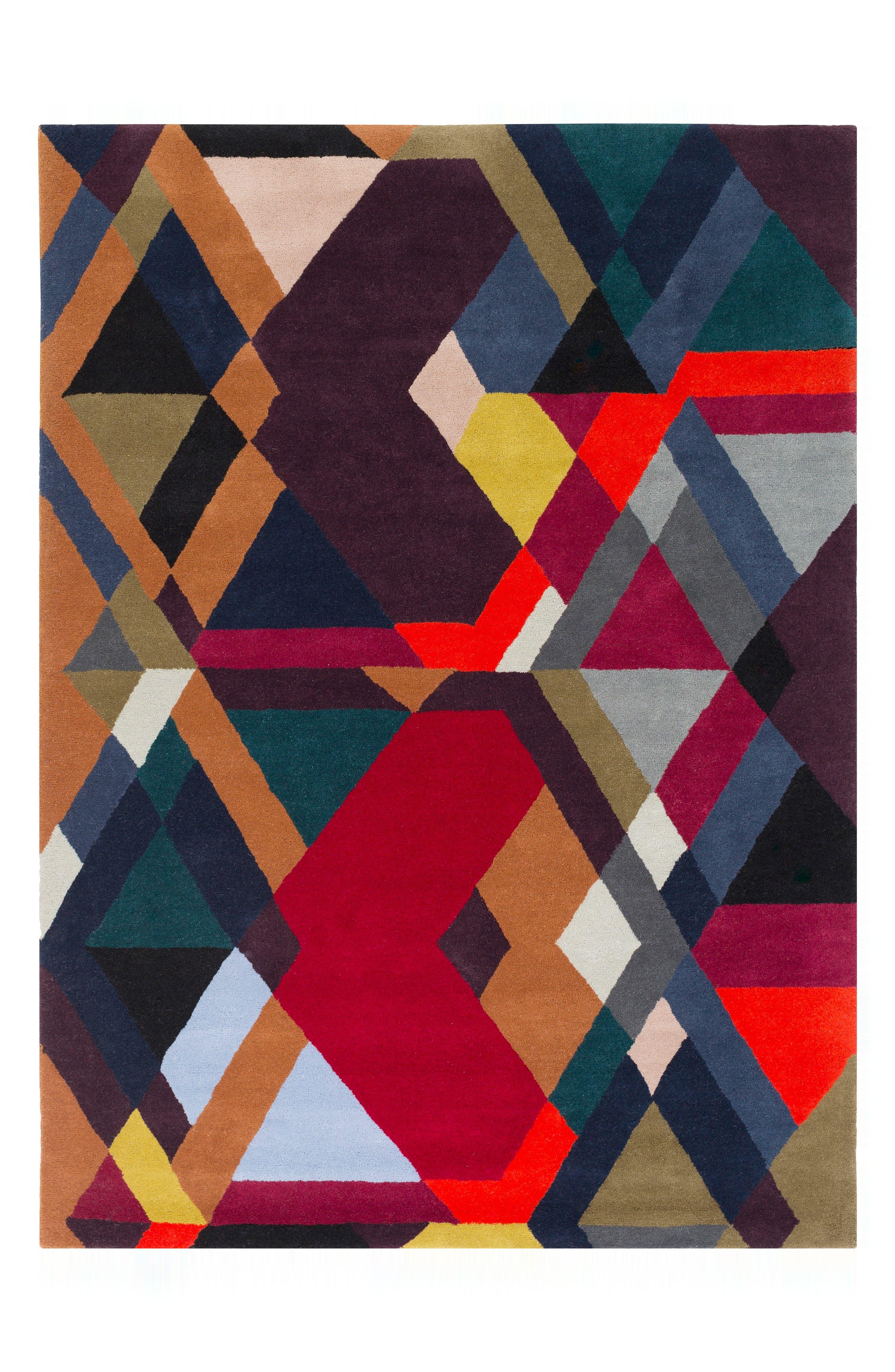 x Surya Iconic Wool Area Rug,                         Main,                         color, 500
