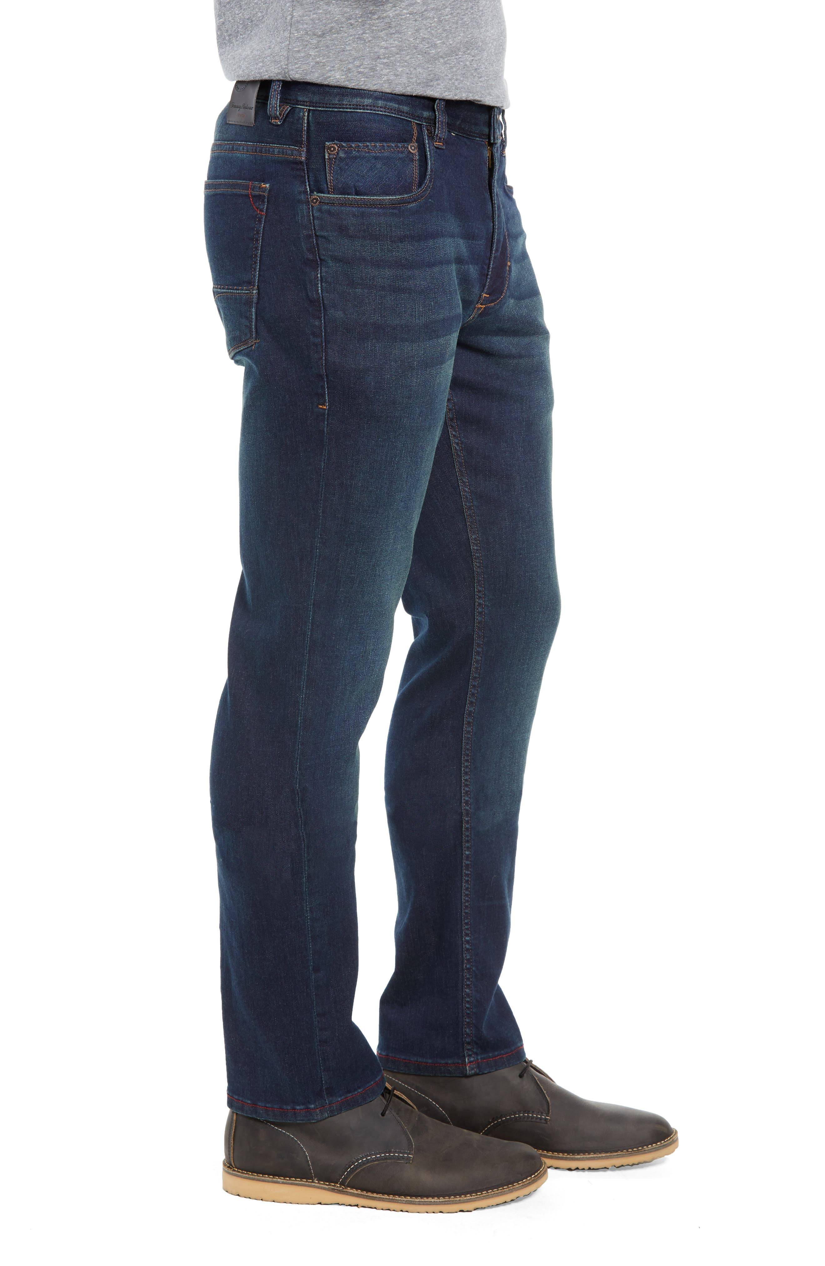 Costa Rica Vintage Regular Fit Jeans,                             Alternate thumbnail 3, color,                             RINSE WASH