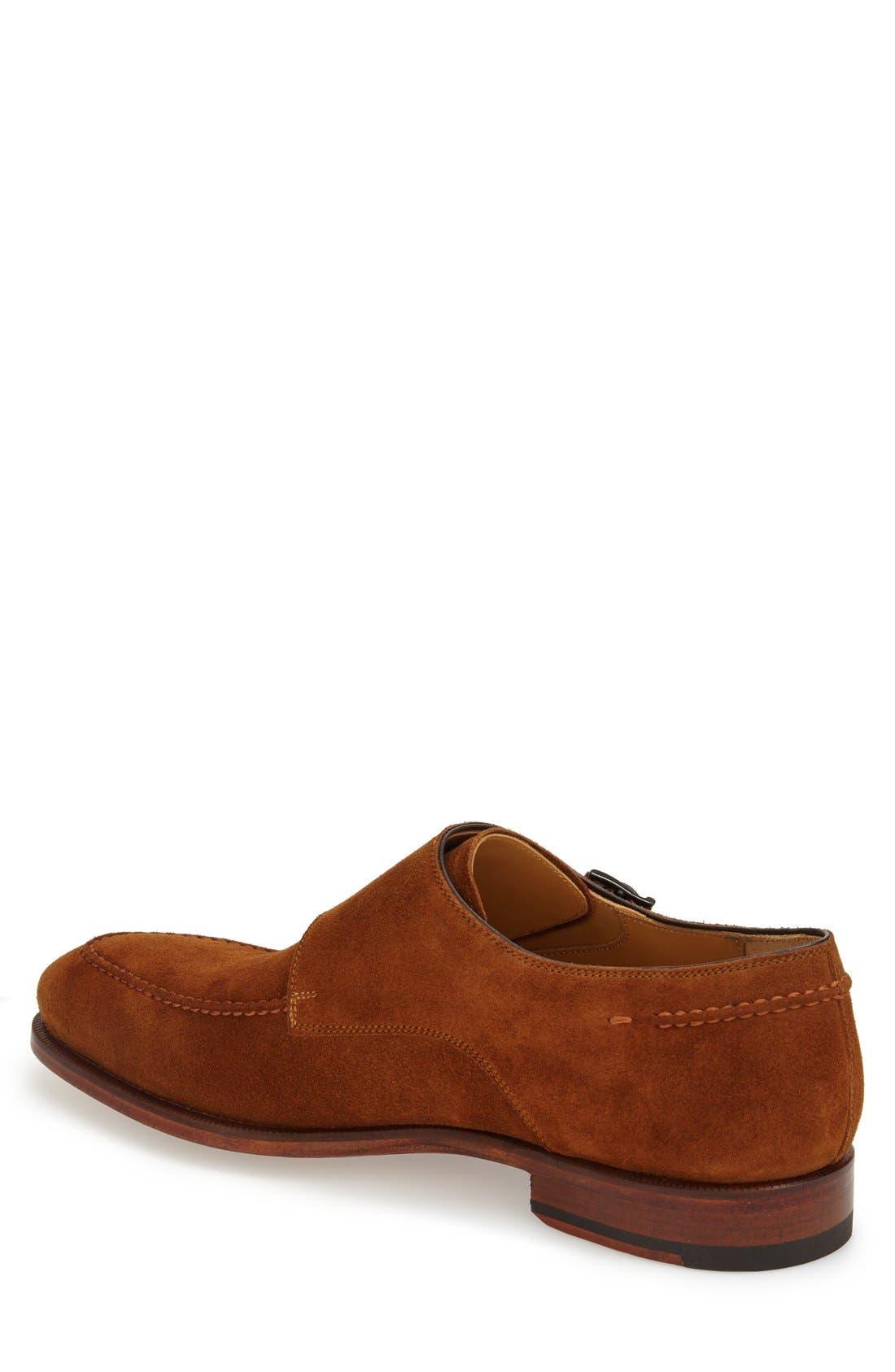 'Tomas' Double Monk Strap Shoe,                             Alternate thumbnail 4, color,                             219