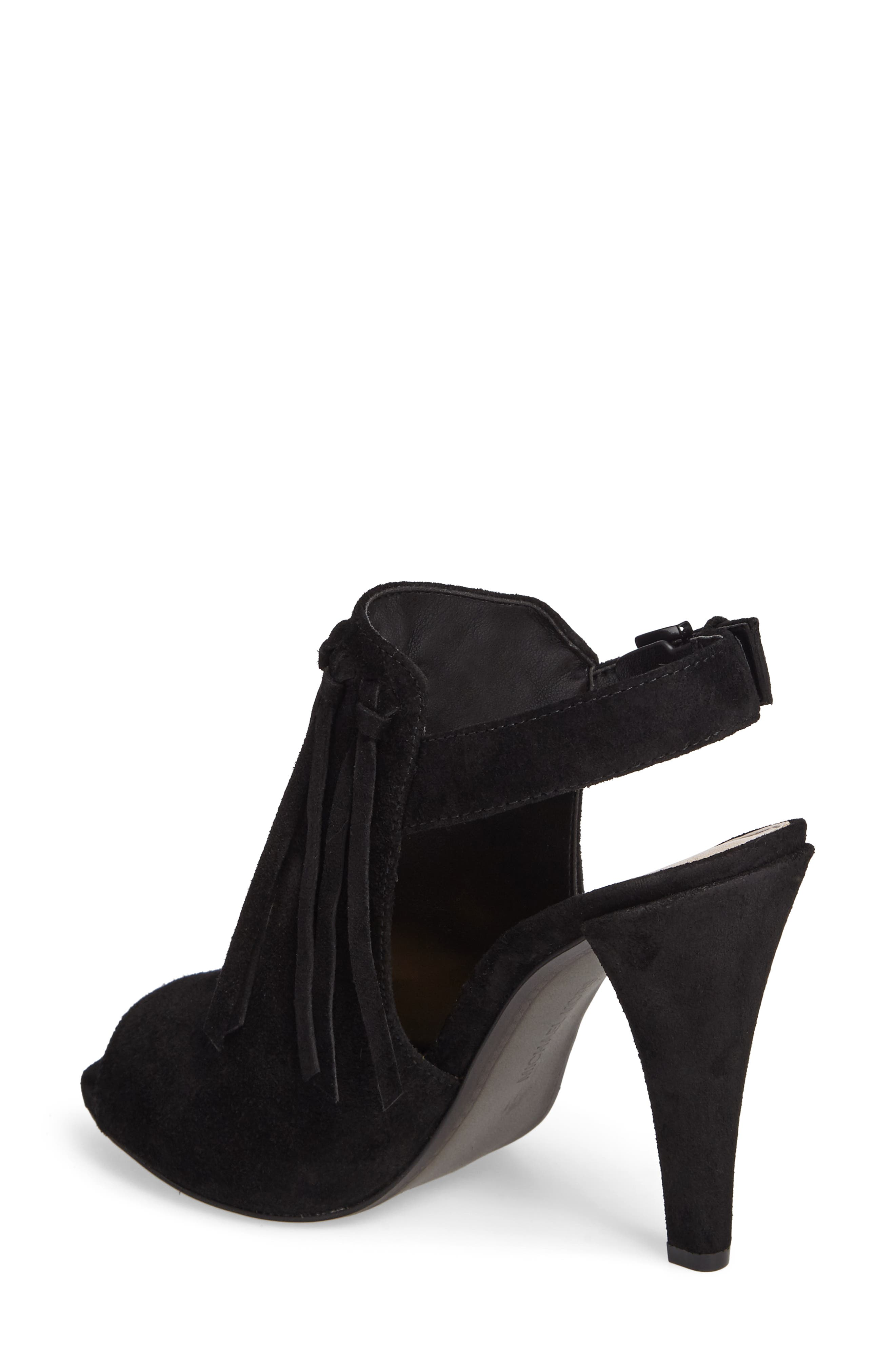Kassidy Open Toe Bootie,                             Alternate thumbnail 3, color,