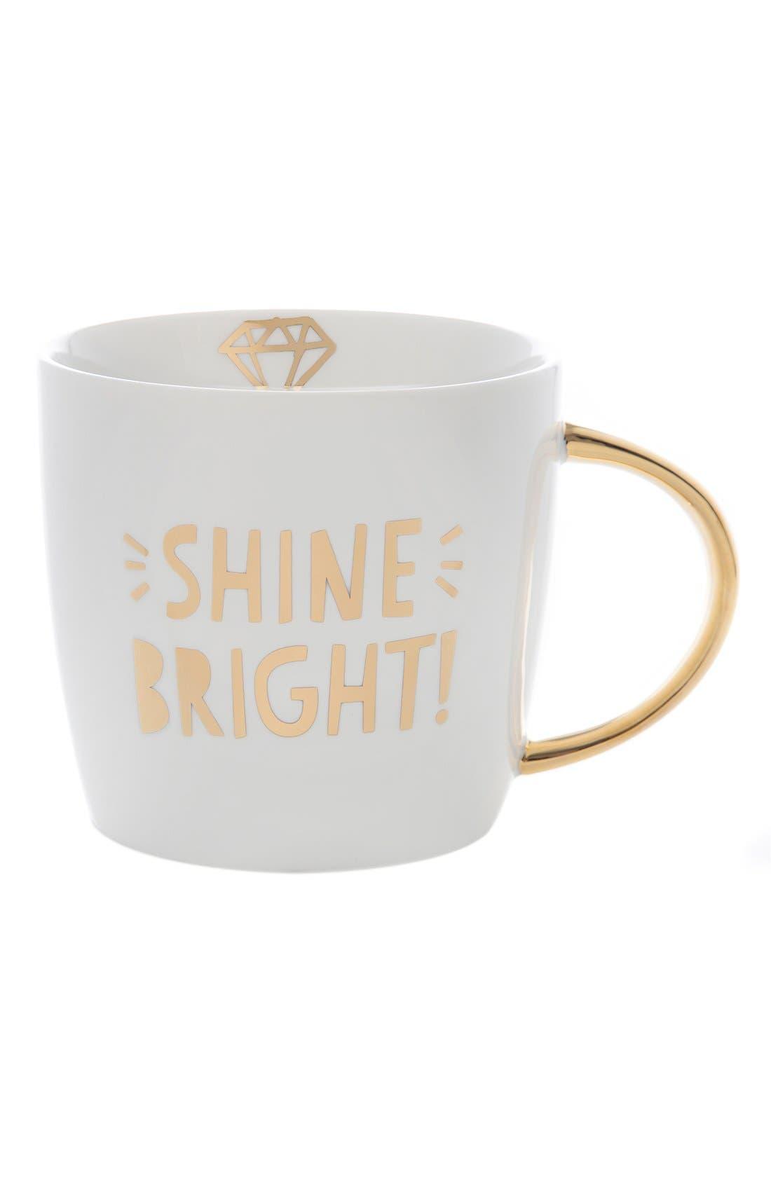 'Shine Bright' Mug,                             Main thumbnail 1, color,                             100