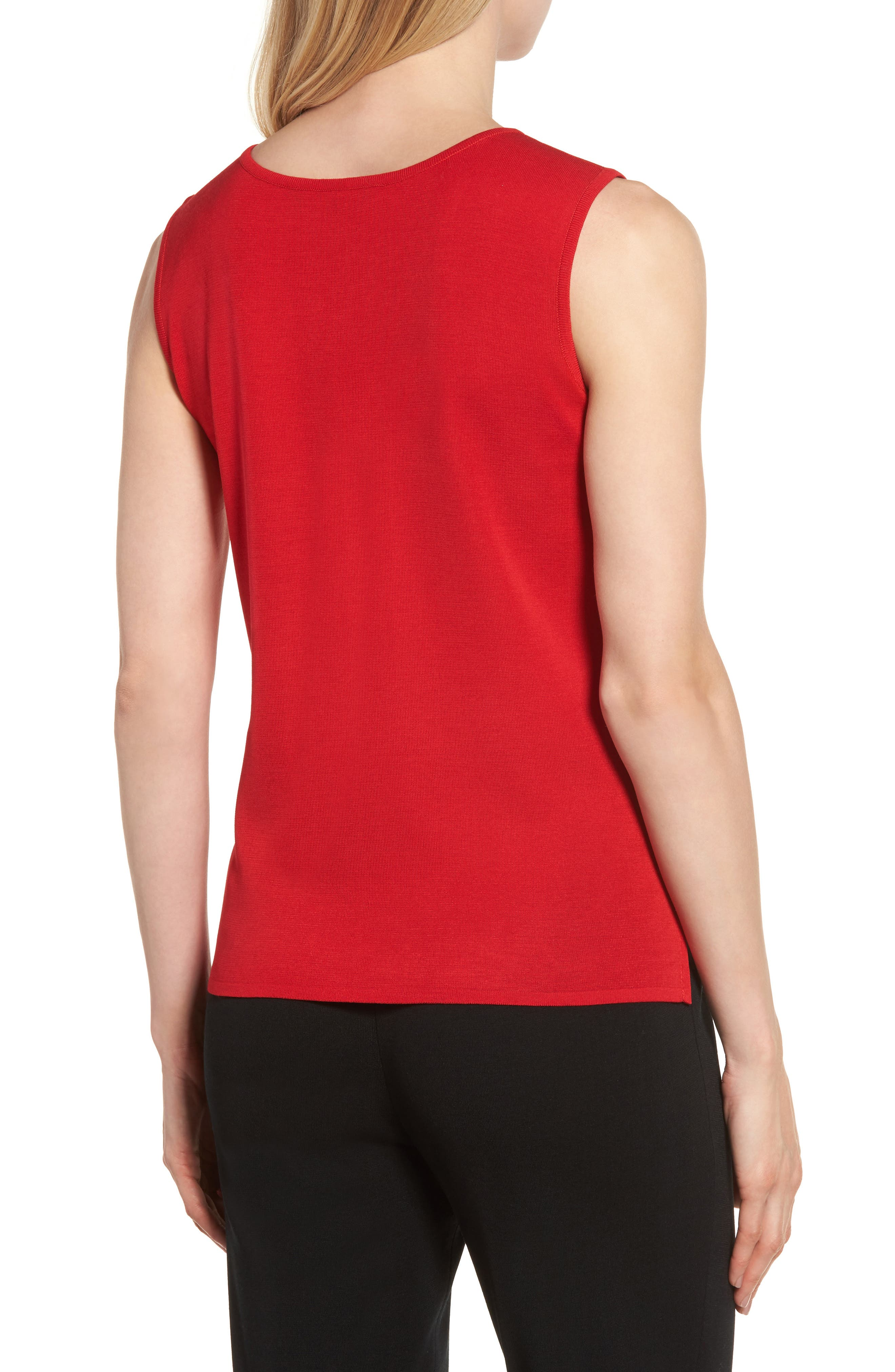 Scoop Neck Knit Tank,                             Alternate thumbnail 2, color,                             608
