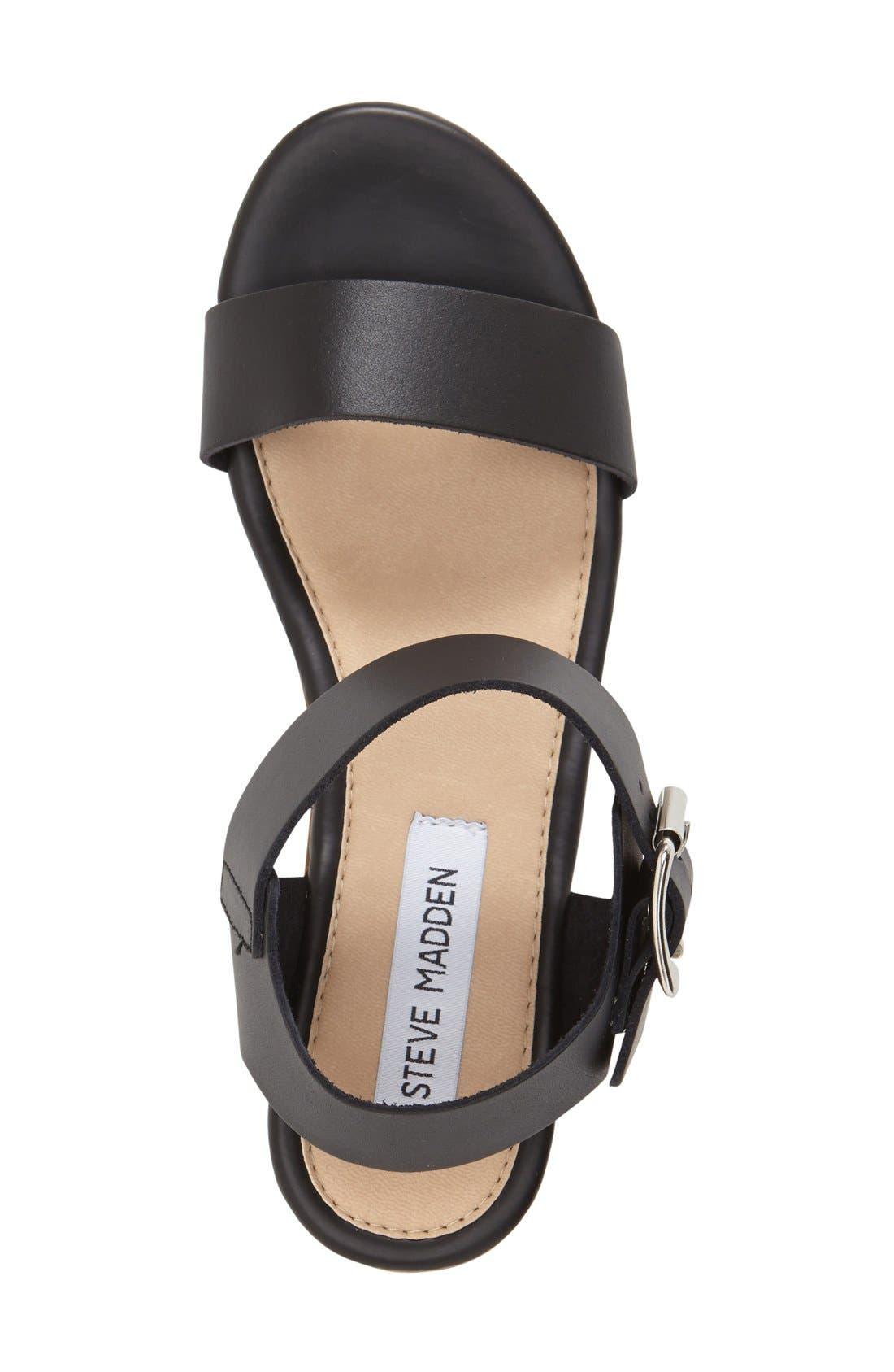 'Nylee' Platform Sandal,                             Alternate thumbnail 2, color,                             001