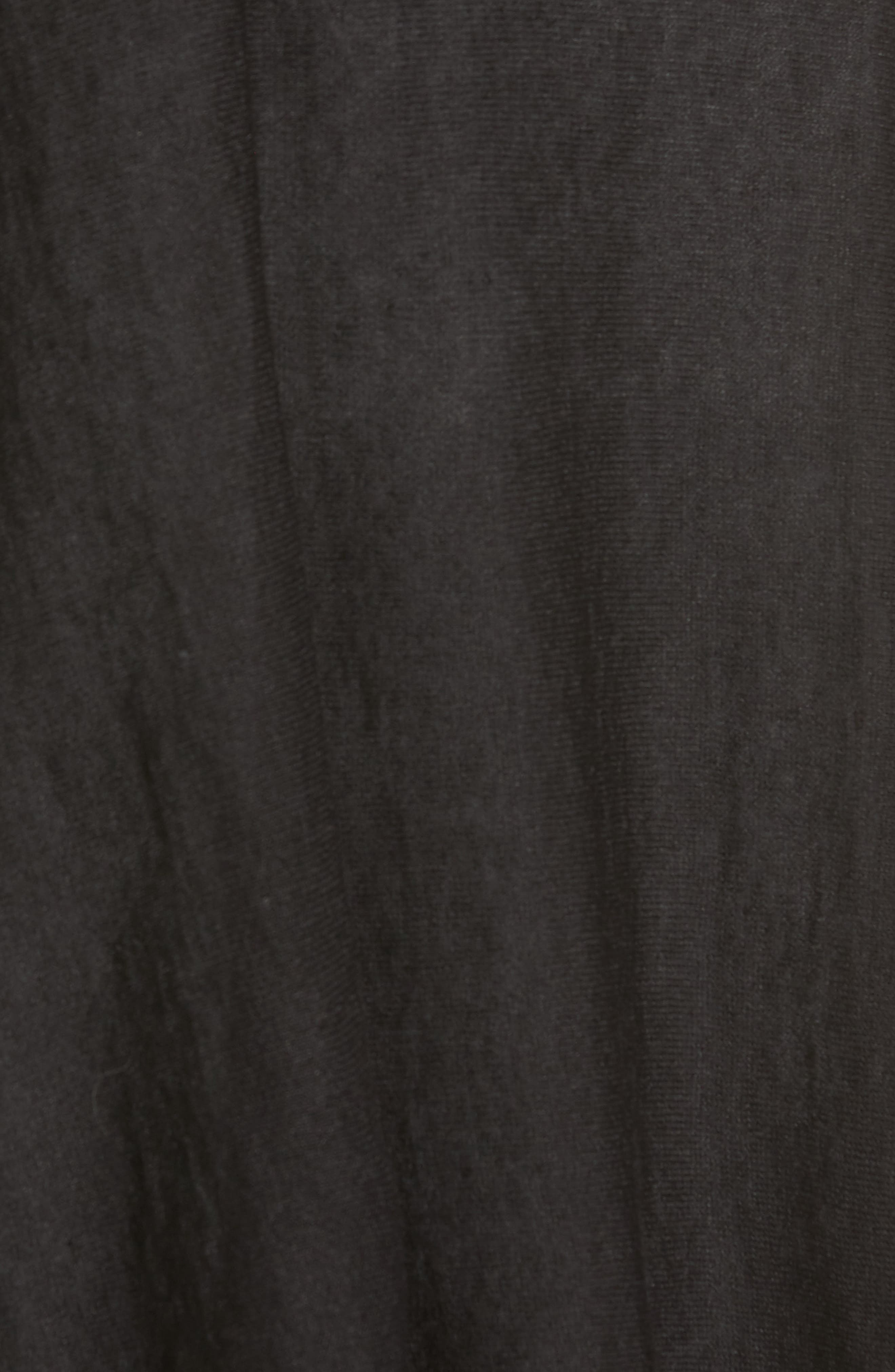 Organic Linen Blend Swing Sweater,                             Alternate thumbnail 5, color,                             001