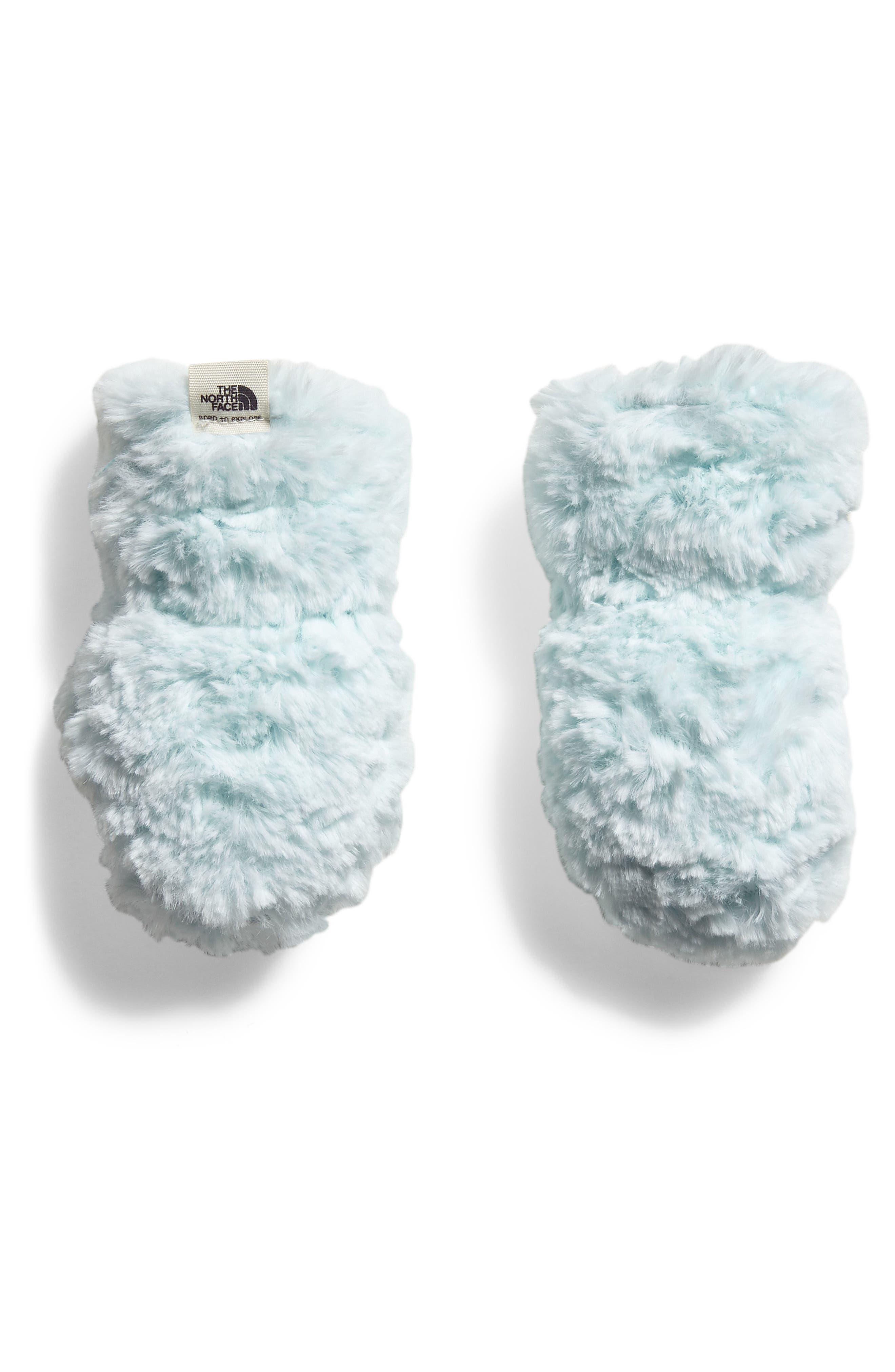 Mossbud Swirl Reversible Water Resistant Heatseeker<sup>™</sup> Insulated Mittens,                             Alternate thumbnail 2, color,                             MINT BLUE/ ORIGIN BLUE