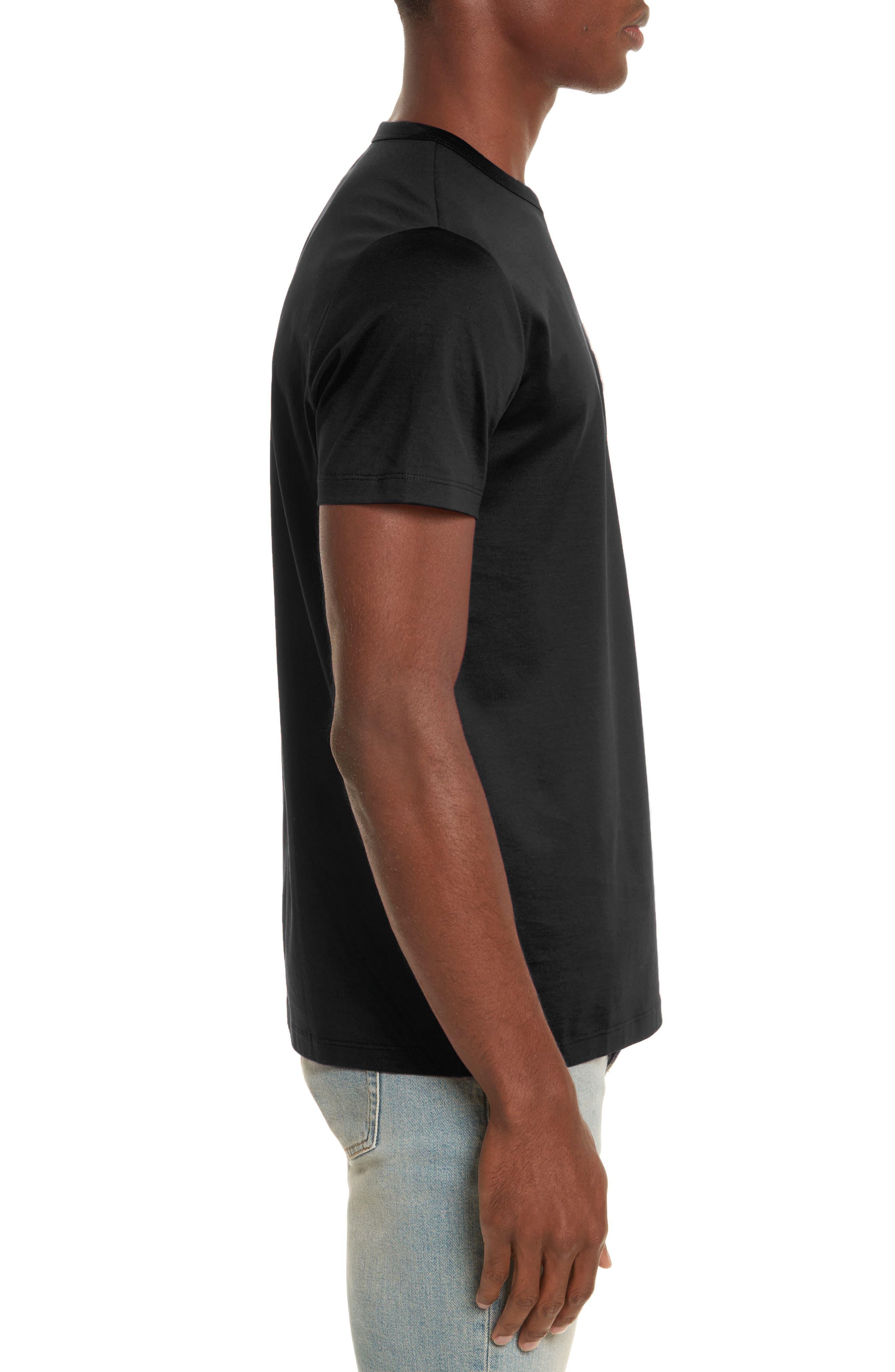 Patch T-Shirt,                             Alternate thumbnail 3, color,                             001