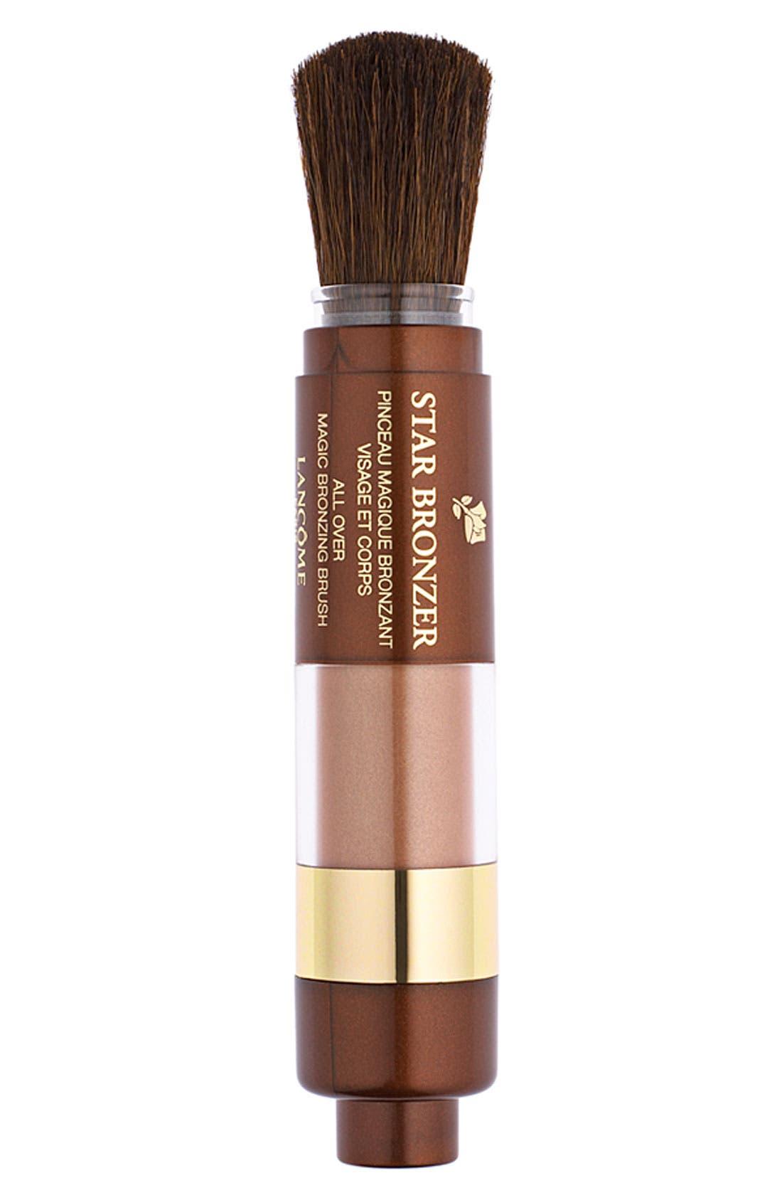 LANCÔME Star Bronzer Magic Bronzing Brush, Main, color, BRONZE