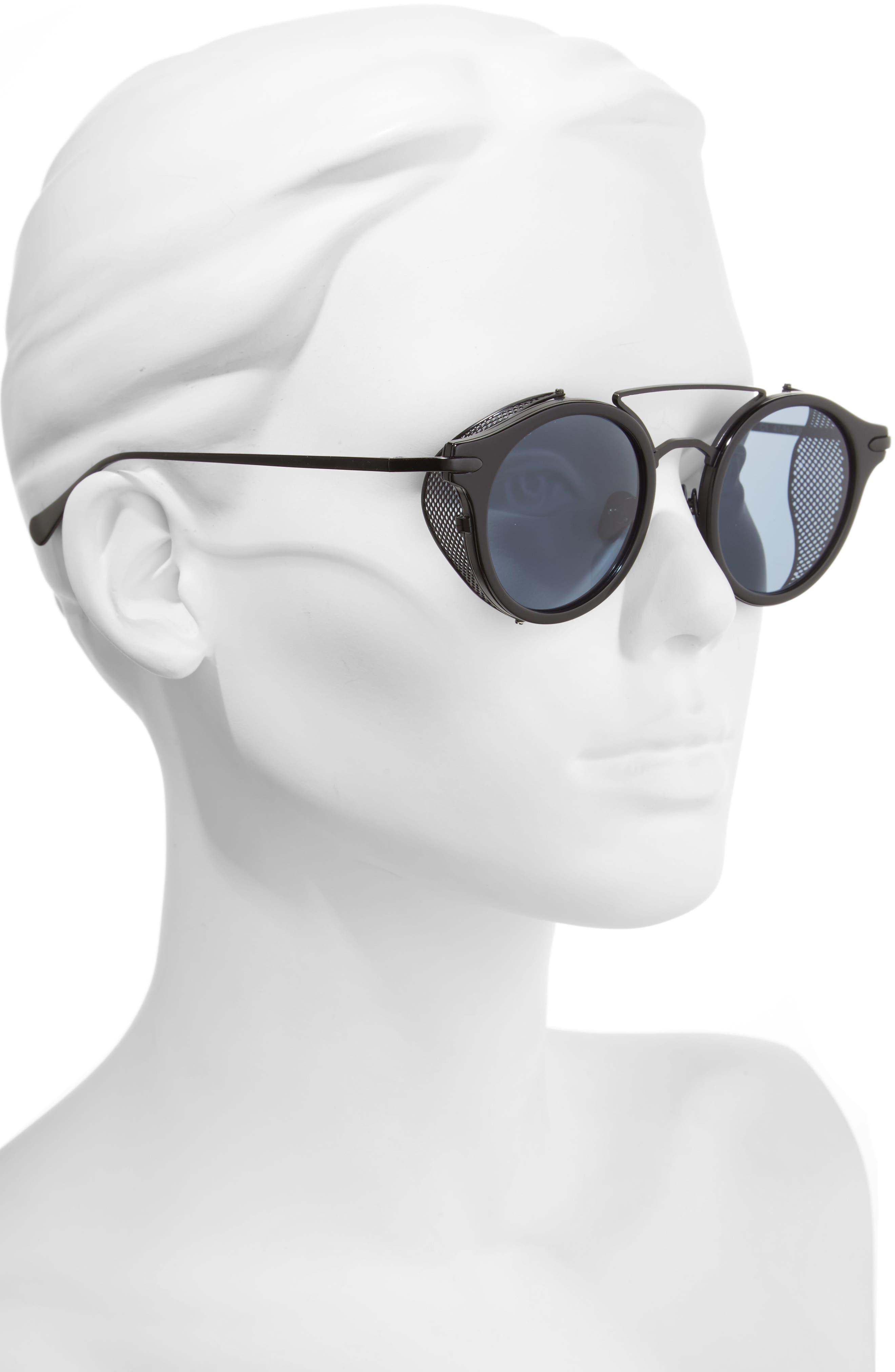 Mile High 47mm Sunglasses,                             Alternate thumbnail 2, color,                             001