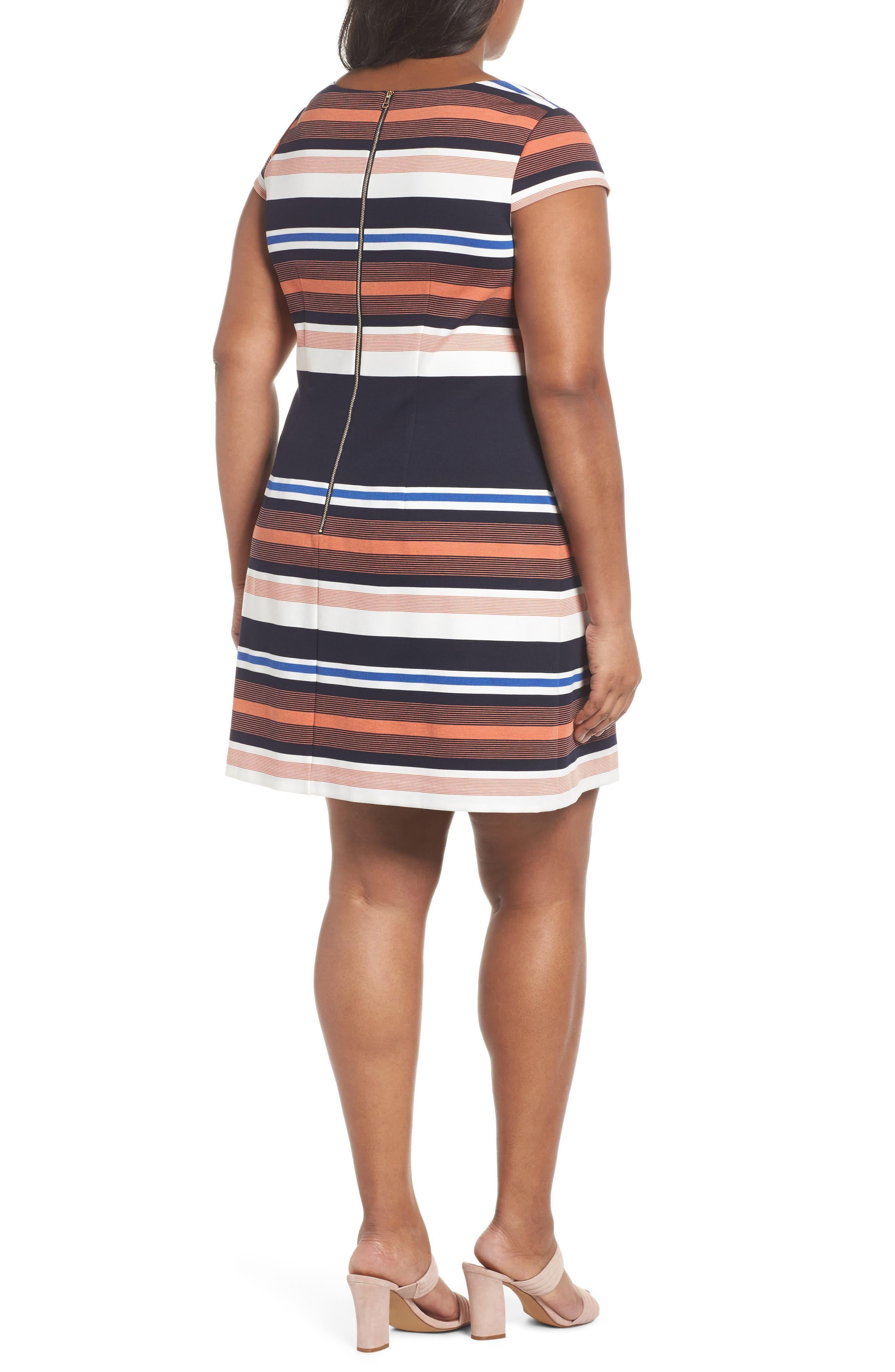 Stripe Shirtdress,                             Alternate thumbnail 2, color,                             474
