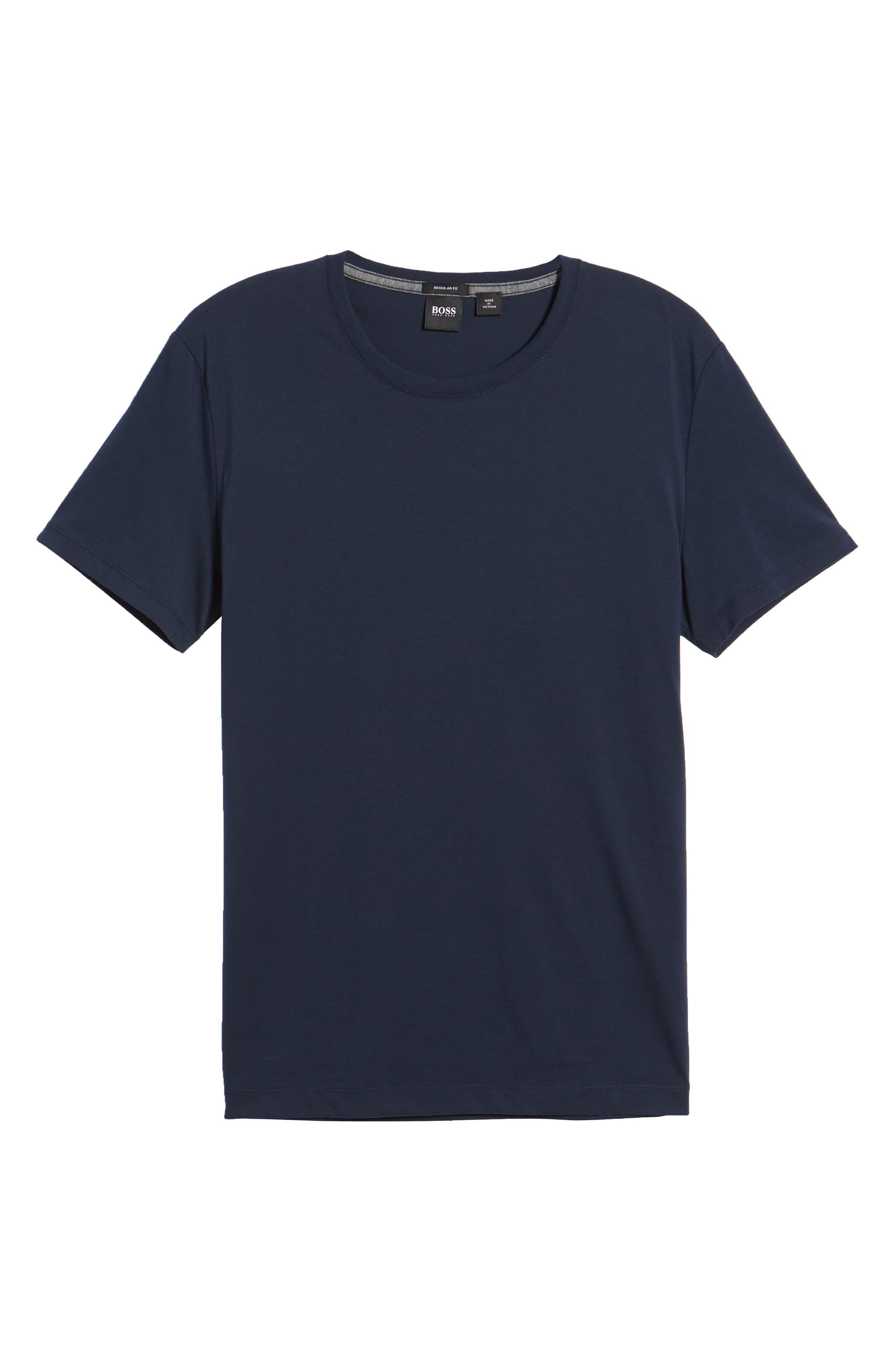 Tiburt Regular Fit Crewneck T-Shirt,                             Alternate thumbnail 18, color,