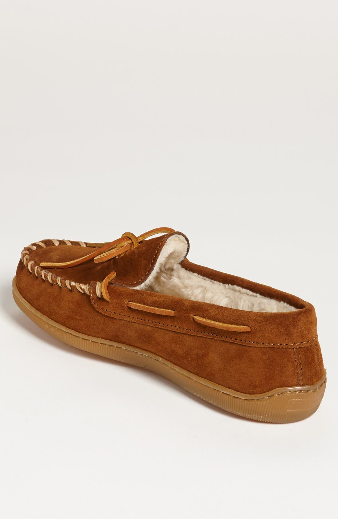 Suede Moccasin,                             Alternate thumbnail 2, color,                             BROWN SUEDE
