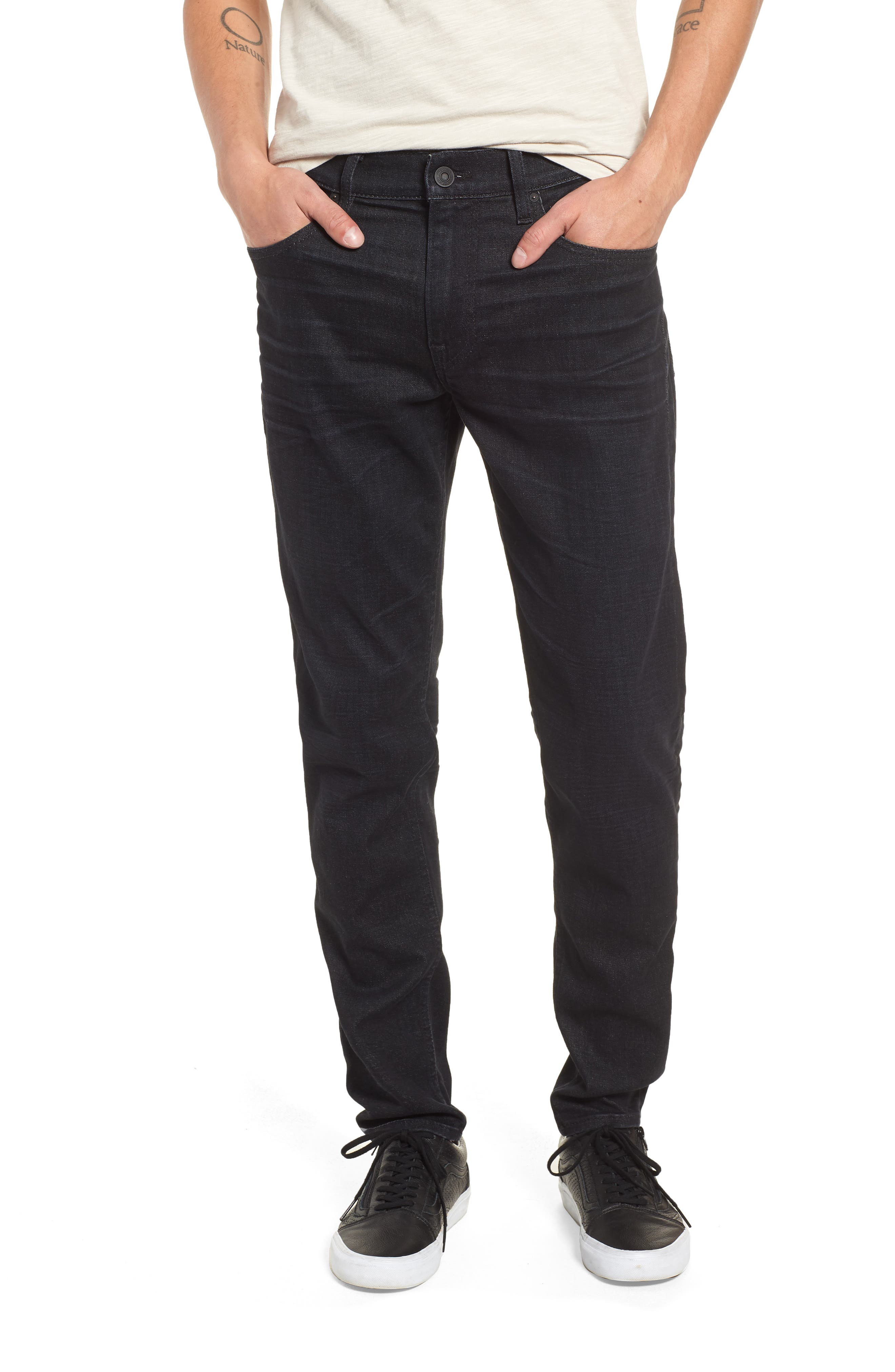 Zack Skinny Fit Jeans,                             Main thumbnail 1, color,                             001