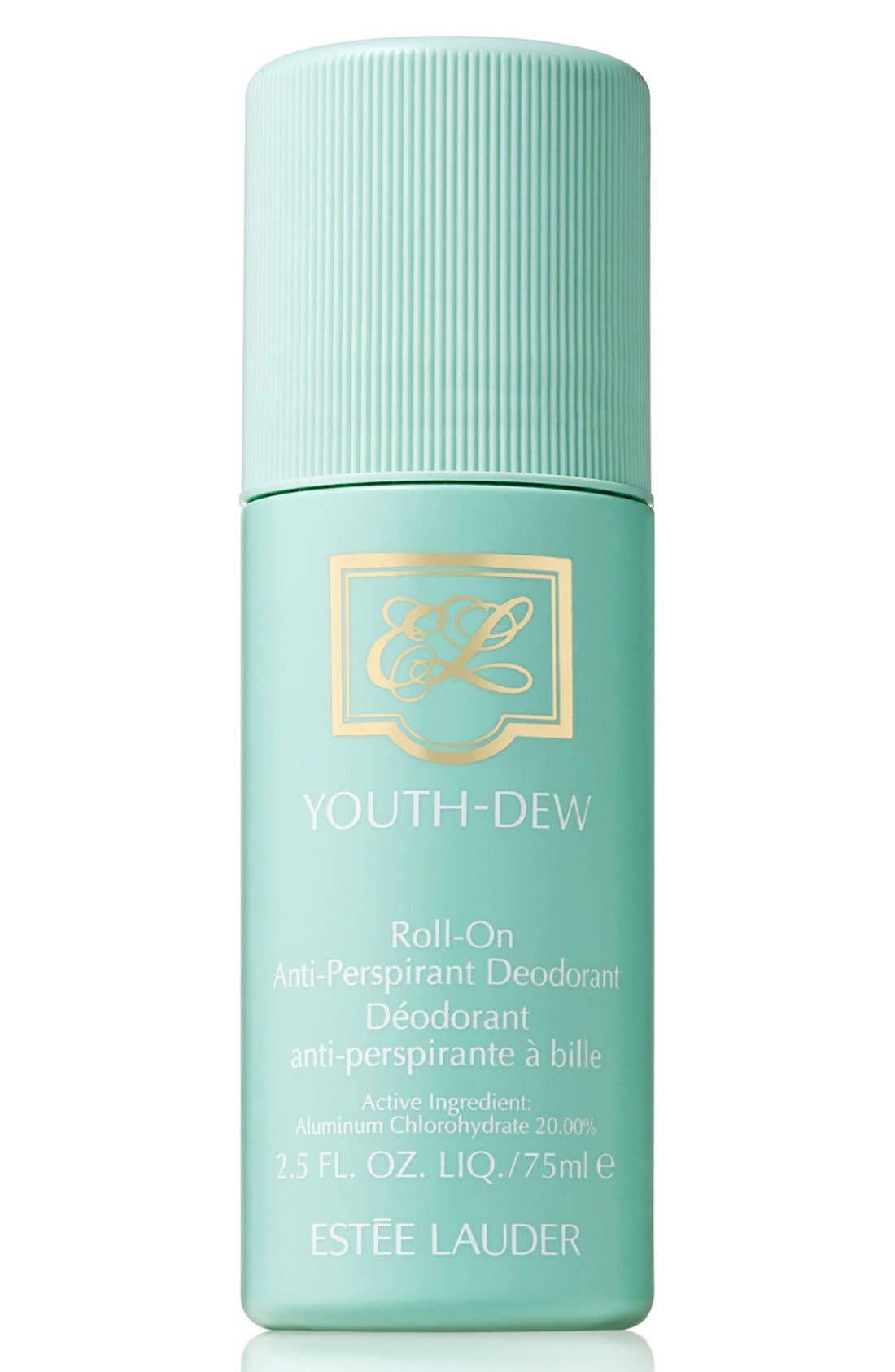 Youth-Dew Roll-On Antiperspirant/Deodorant,                             Main thumbnail 1, color,                             NO COLOR