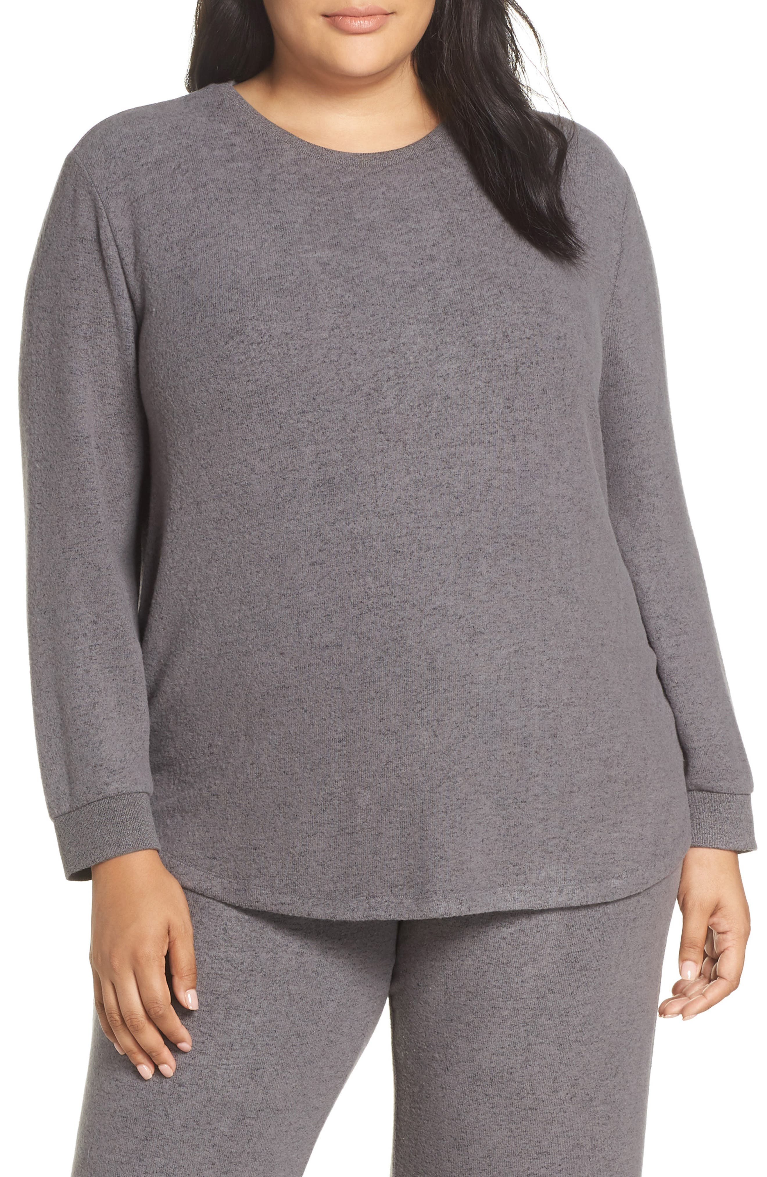 Too Cool Pullover, Main, color, GREY PAVEMENT MARL