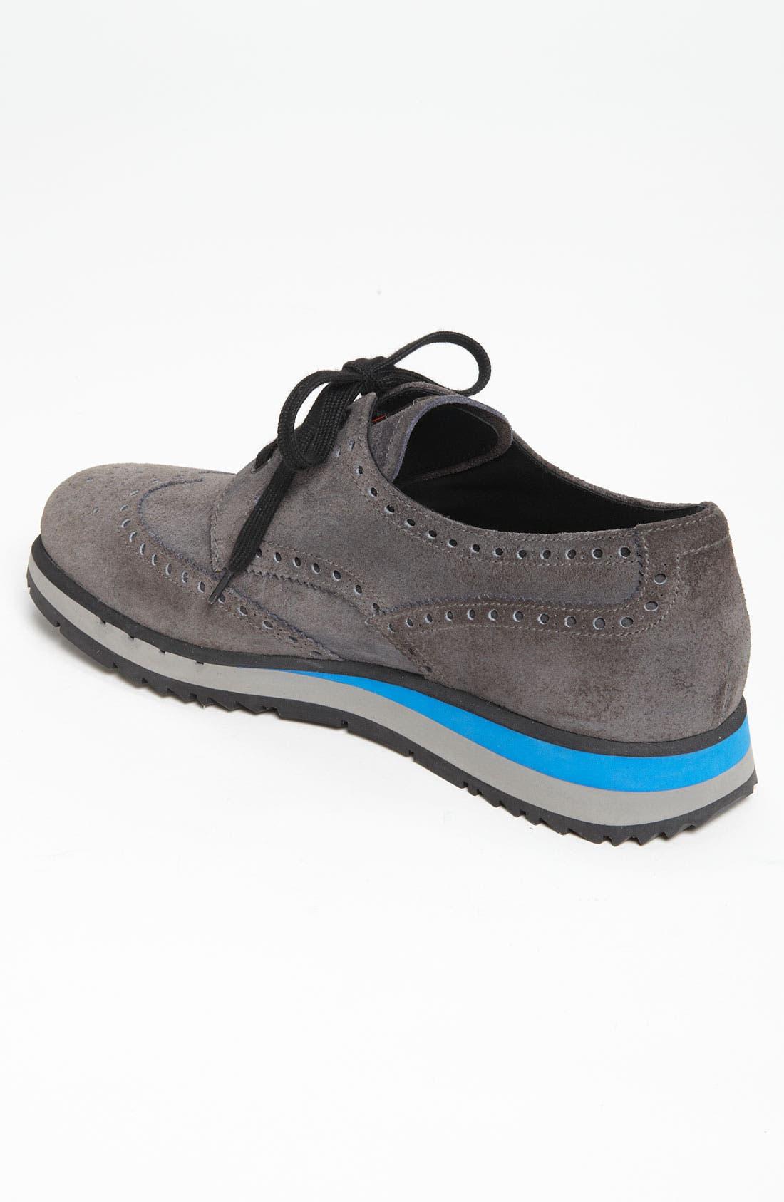 Wingtip Sneaker,                             Alternate thumbnail 2, color,                             020