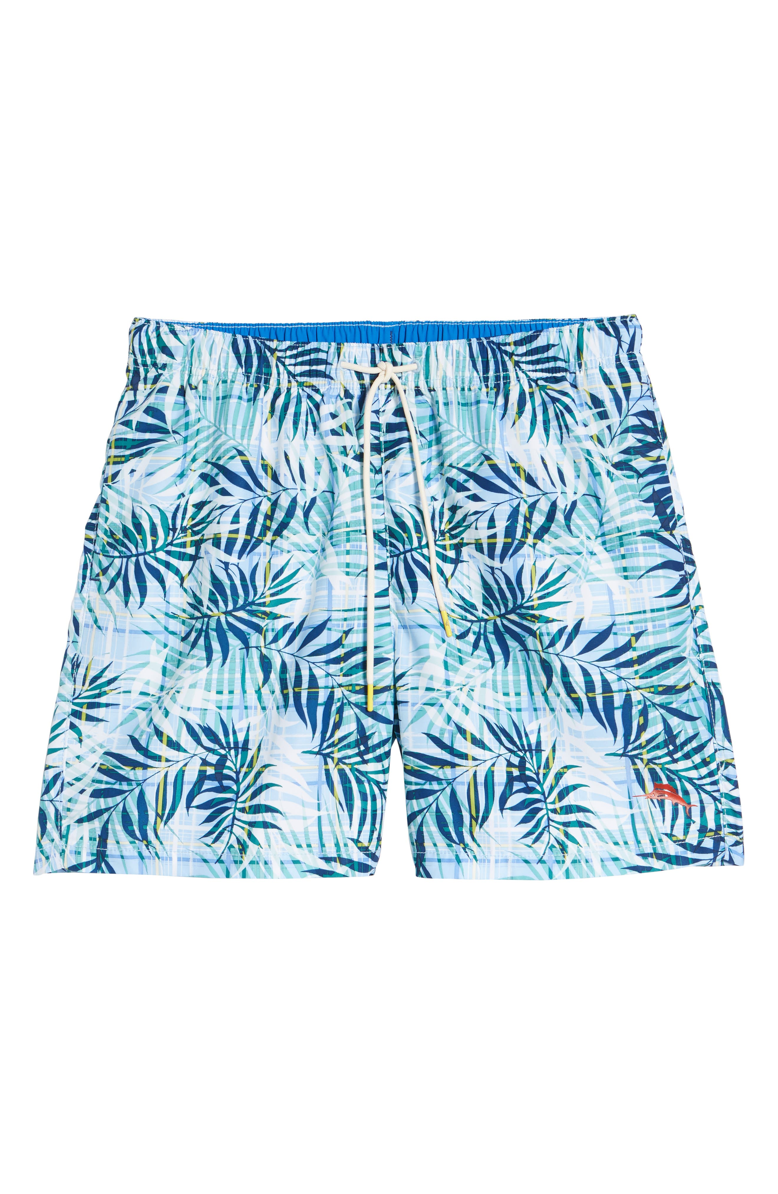 Naples Terraba Swim Trunks,                             Alternate thumbnail 6, color,                             AQUA ICE