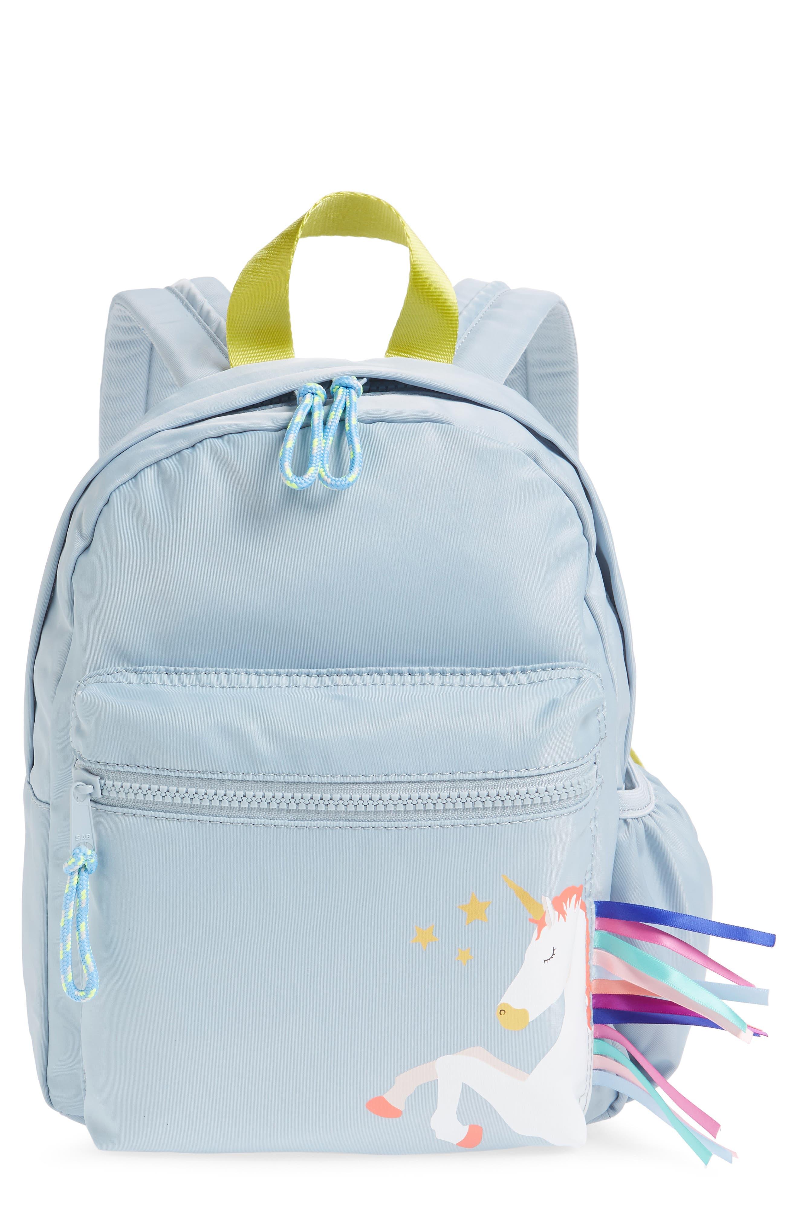 CREWCUTS BY J.CREW Unicorn Mini Backpack, Main, color, 500