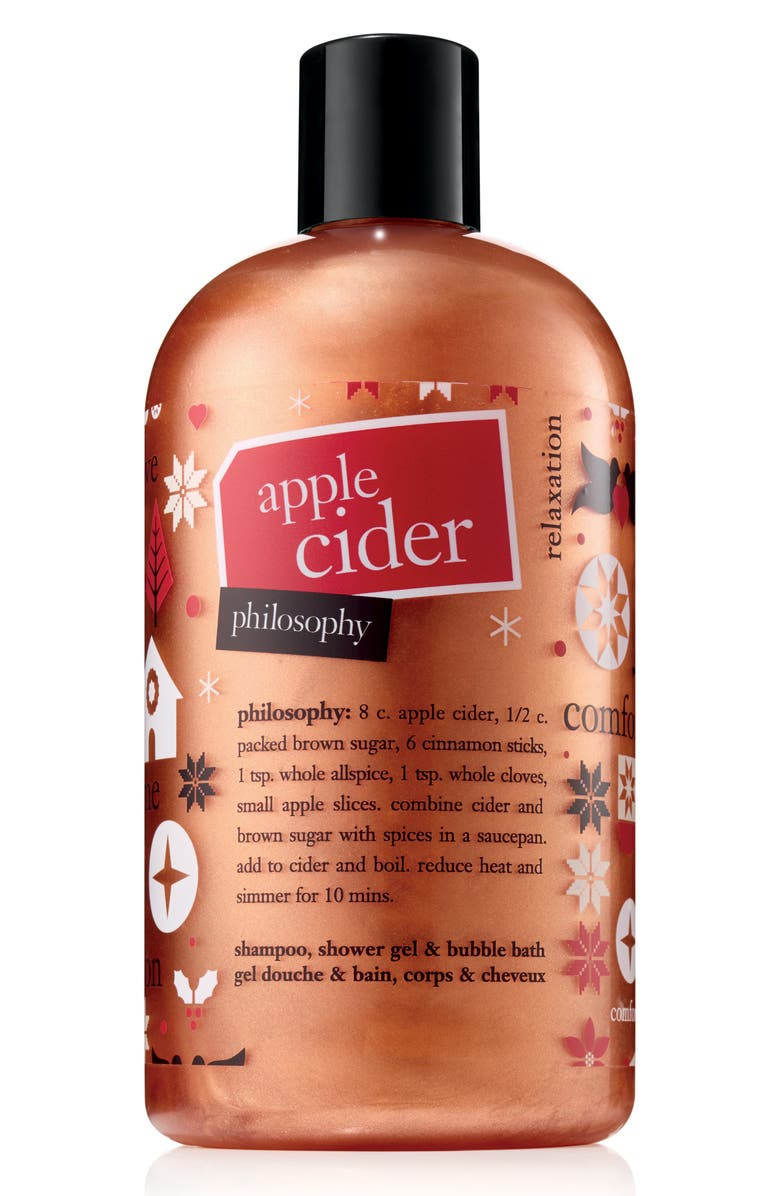 philosophy apple cider shampoo, shower gel & bubble bath (Limited Edition) | Nordstrom