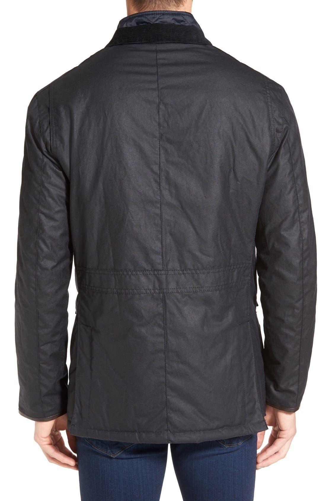 Torridon Wax Jacket with Bib,                             Alternate thumbnail 3, color,                             410
