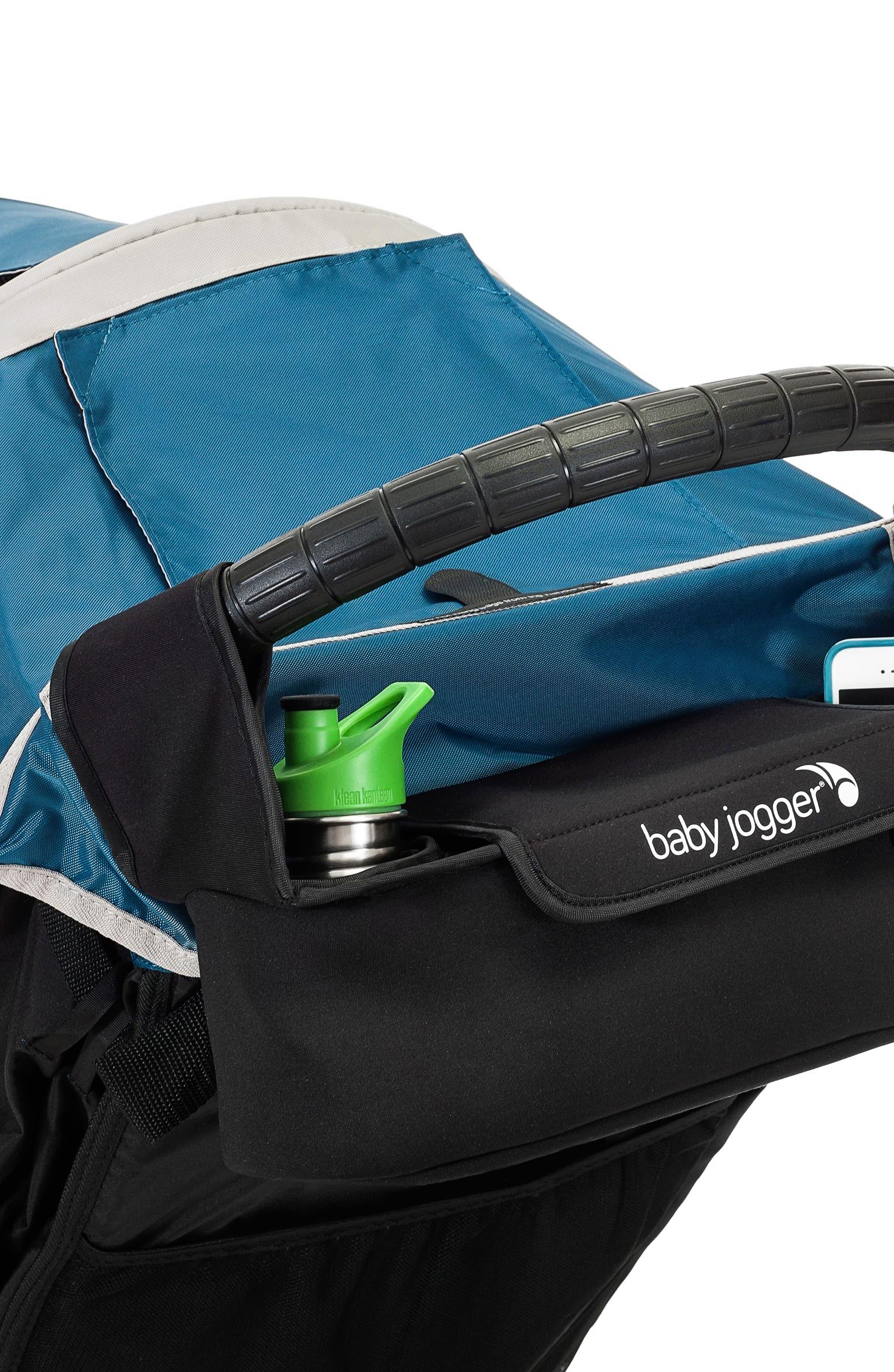 City Mini GT<sup>®</sup> Single Stroller & Parent Console Attachment,                             Alternate thumbnail 4, color,                             STEEL GRAY