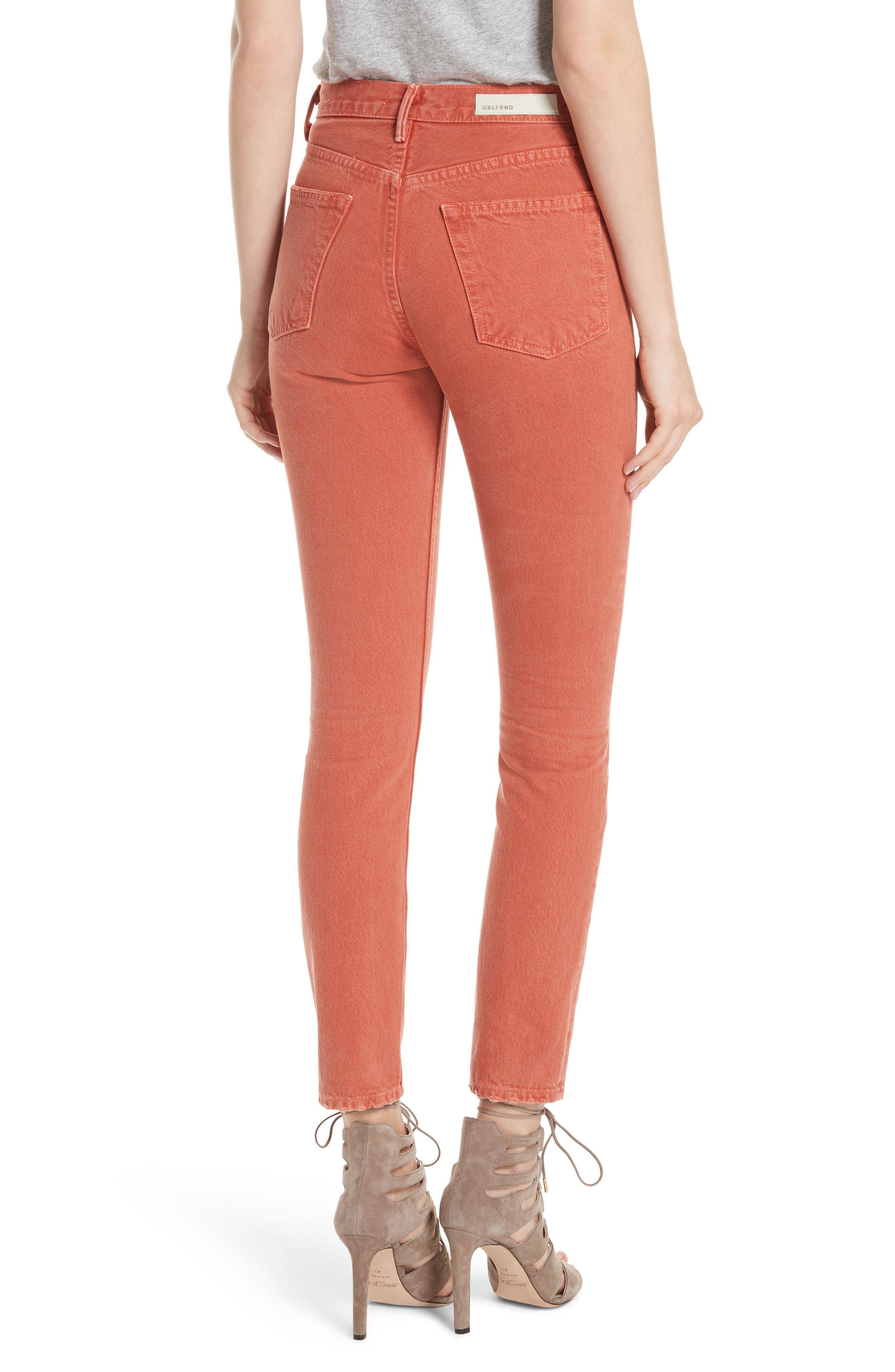 Karolina High Waist Skinny Jeans,                             Alternate thumbnail 2, color,                             MARRAKECH