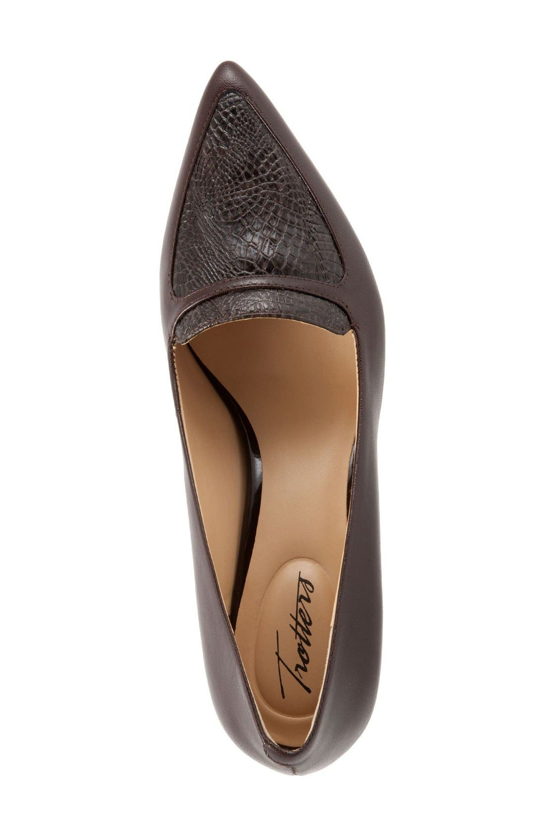 'Piper' Pointy Toe Pump,                             Alternate thumbnail 15, color,