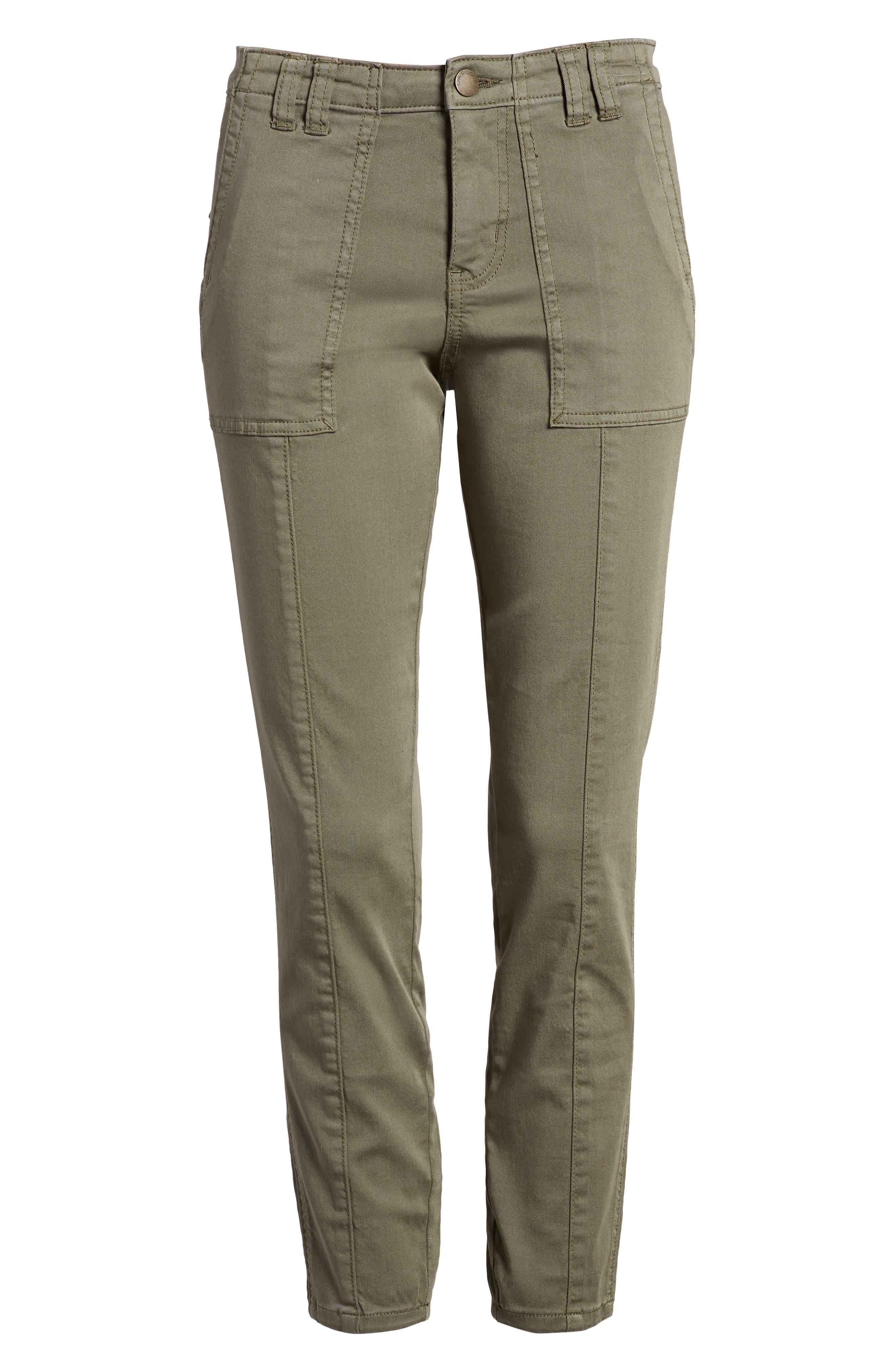 Crop Utility Pants,                             Alternate thumbnail 6, color,                             315
