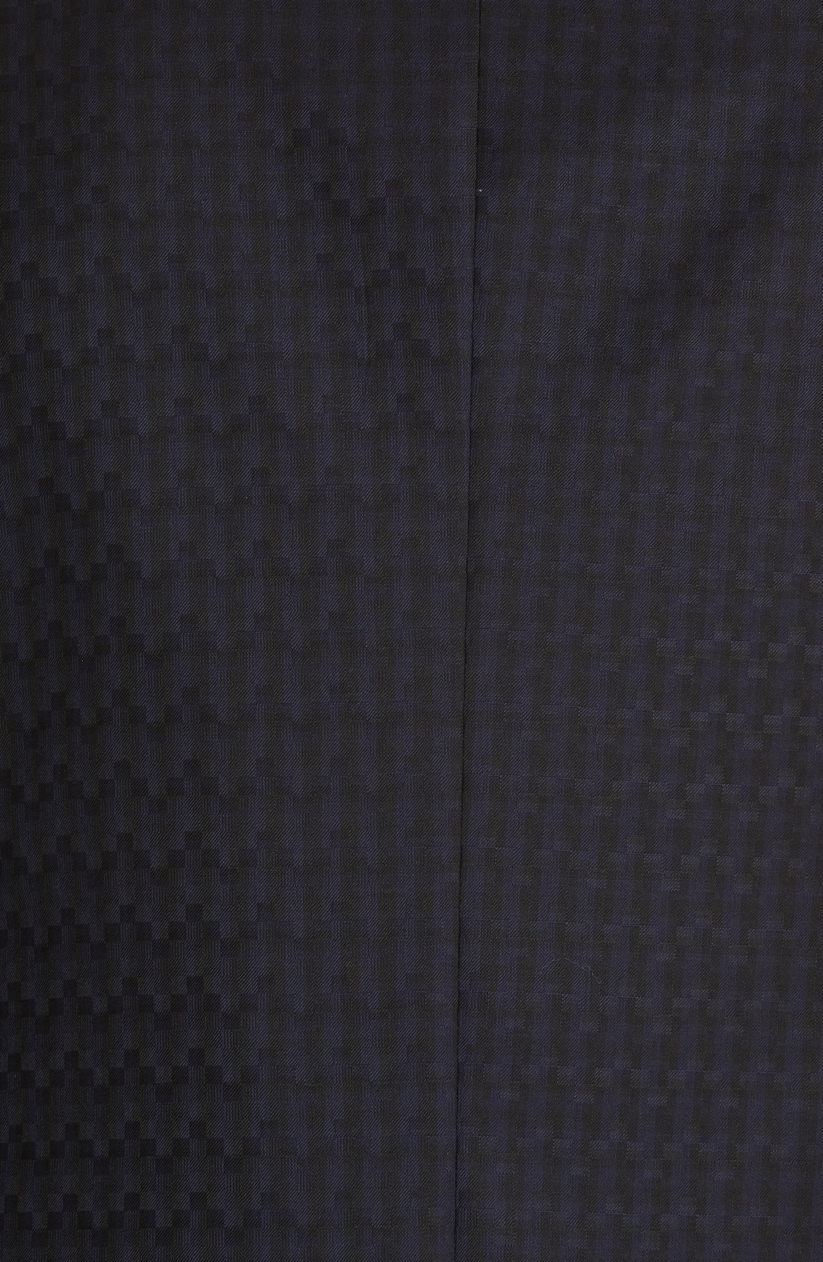 G-Line Trim Fit Wool Dinner Jacket,                             Alternate thumbnail 6, color,                             MIDNIGHT