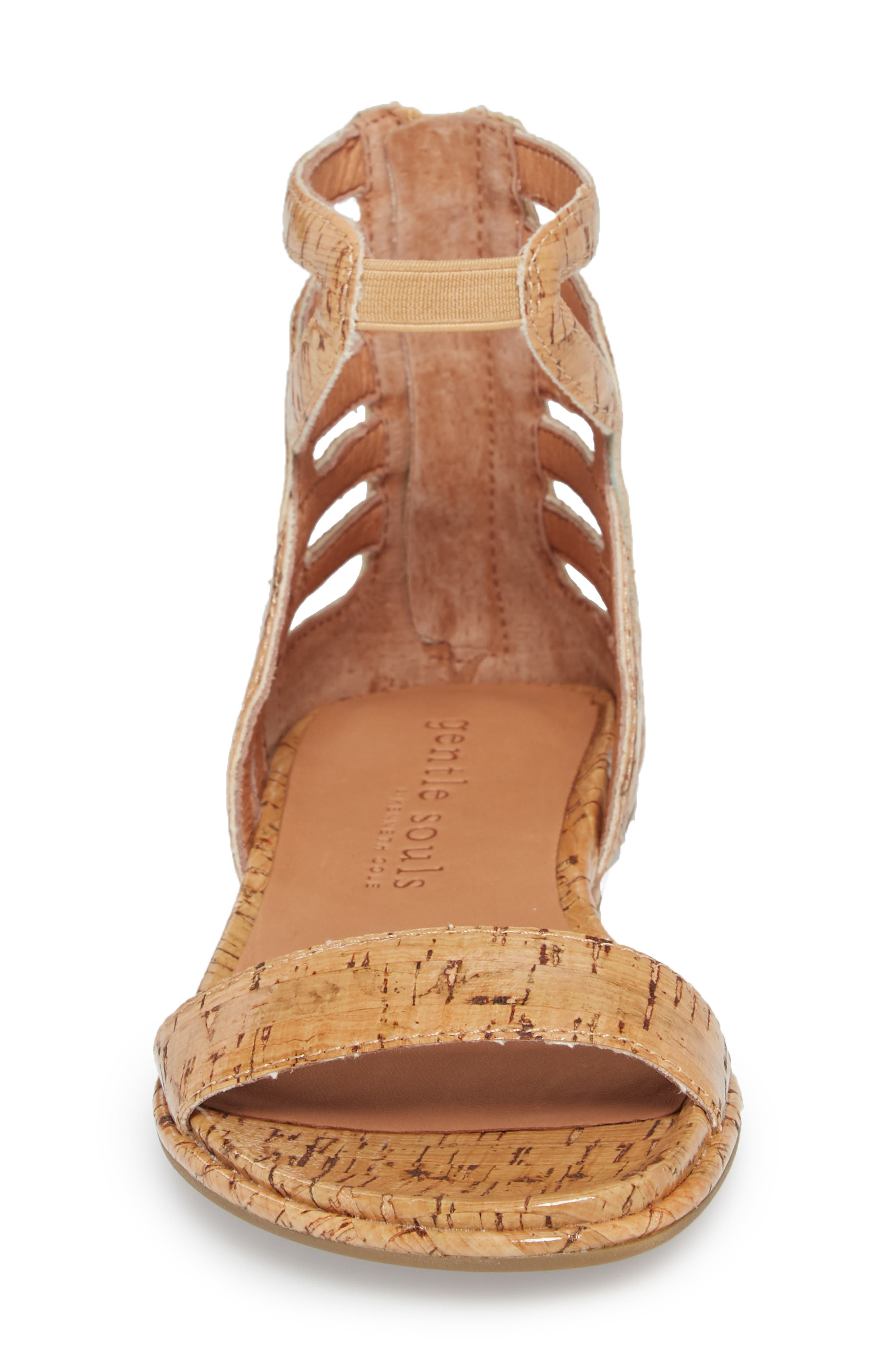 by Kenneth Cole Larissa Sandal,                             Alternate thumbnail 4, color,                             NATURAL