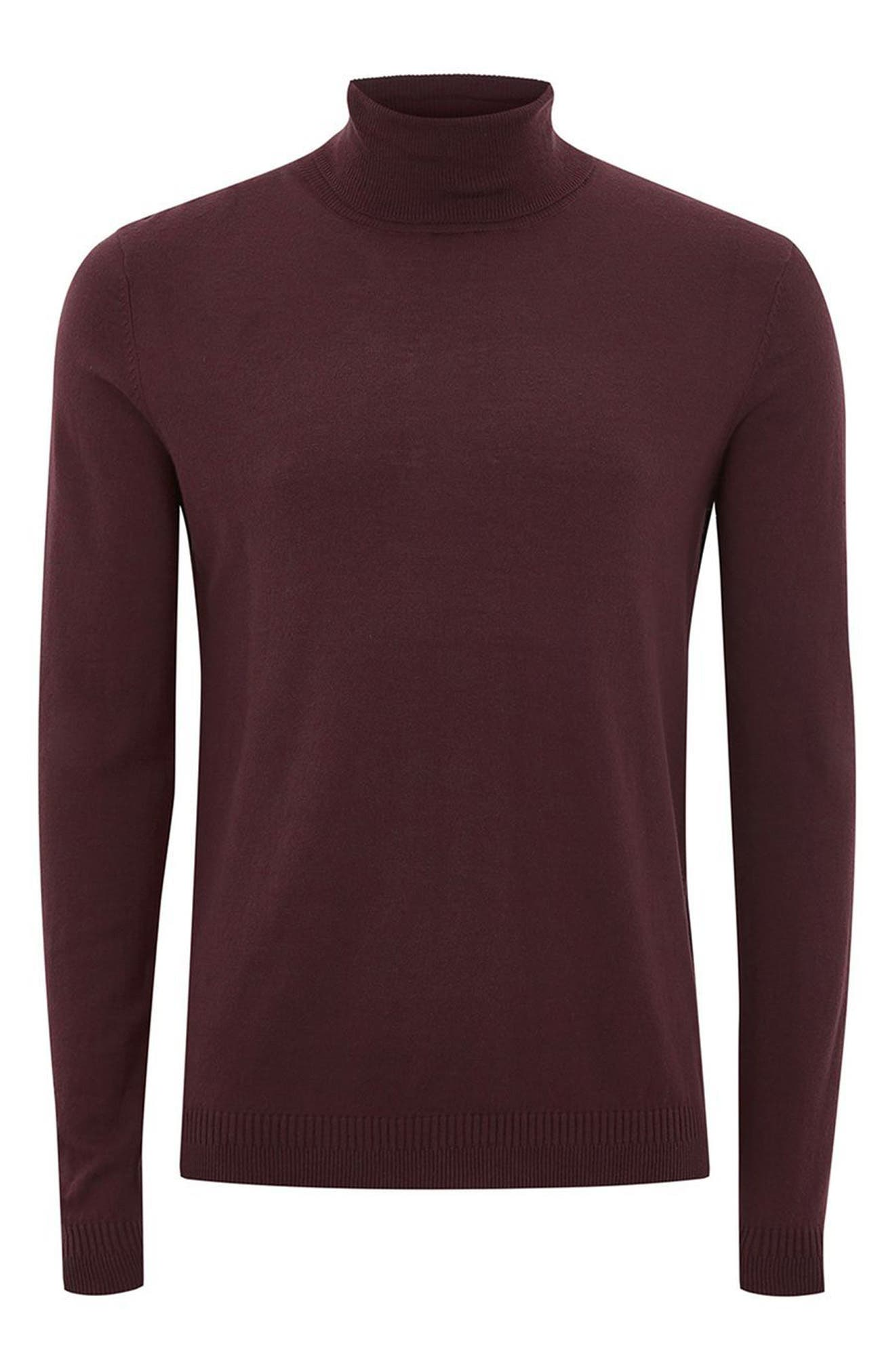 Cotton Turtleneck Sweater,                             Alternate thumbnail 12, color,