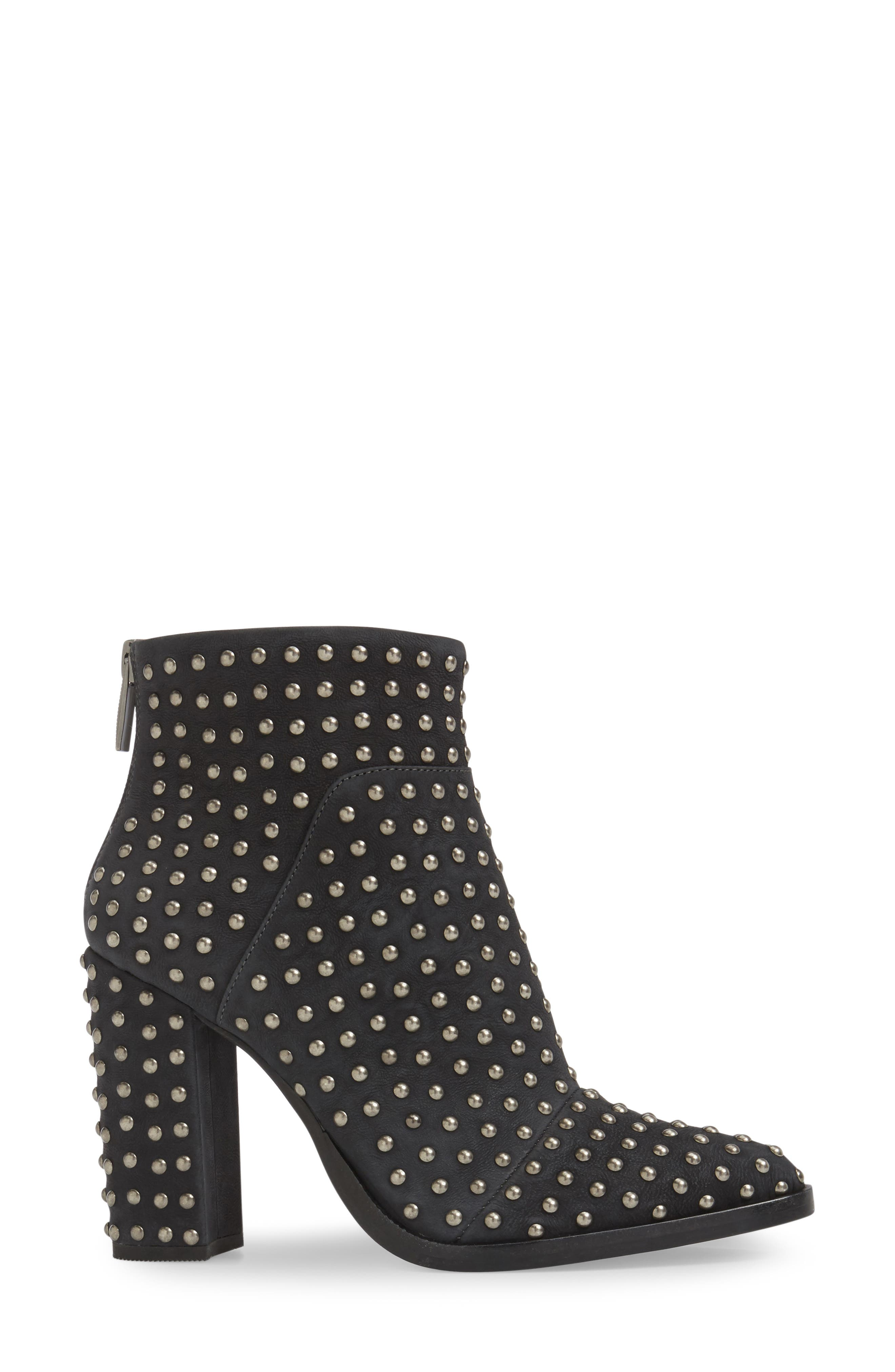 Full Monty Studded Bootie,                             Alternate thumbnail 3, color,                             001