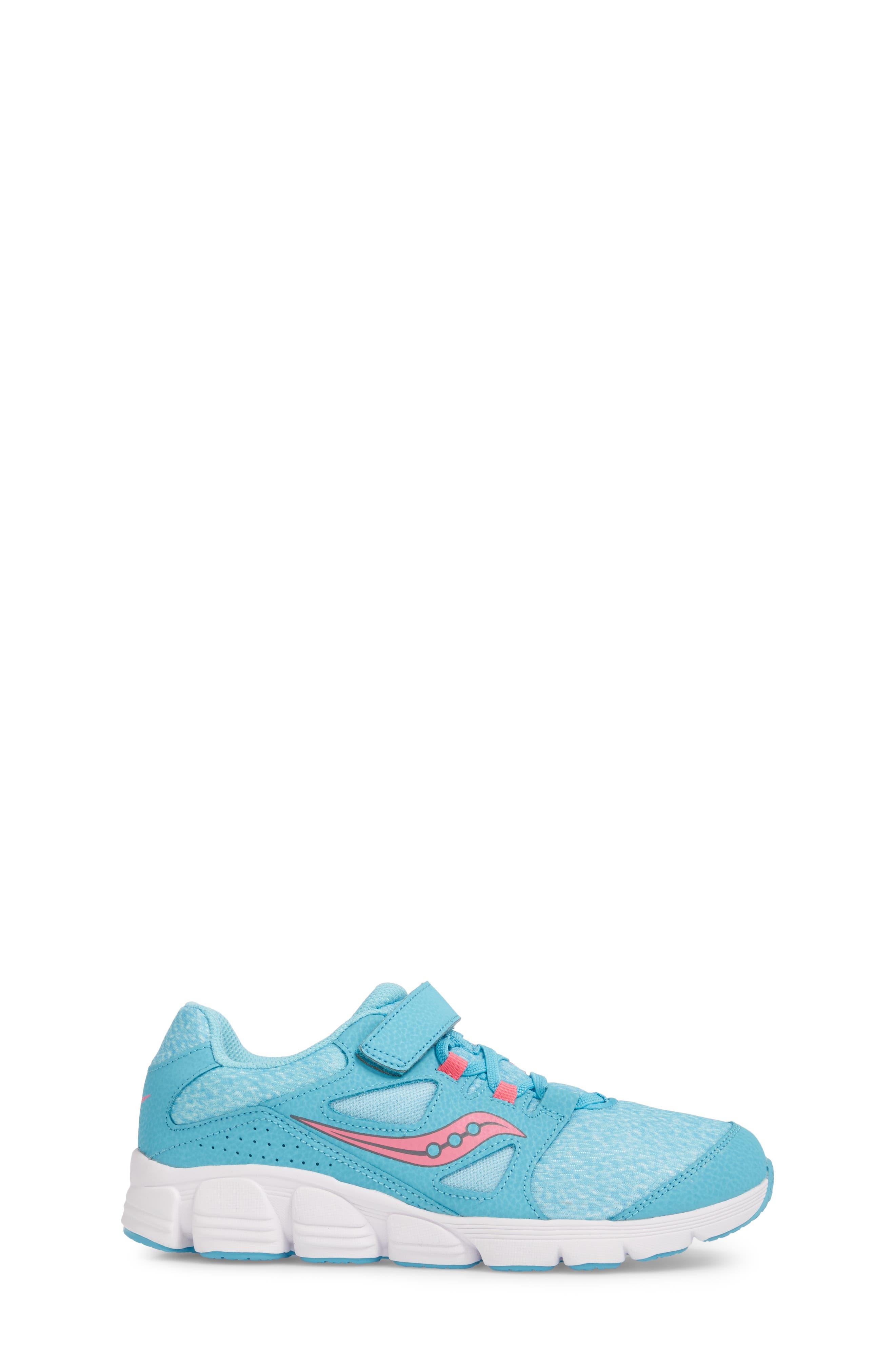 Kotaro 4 Sneaker,                             Alternate thumbnail 3, color,                             TURQUOISE/ PINK
