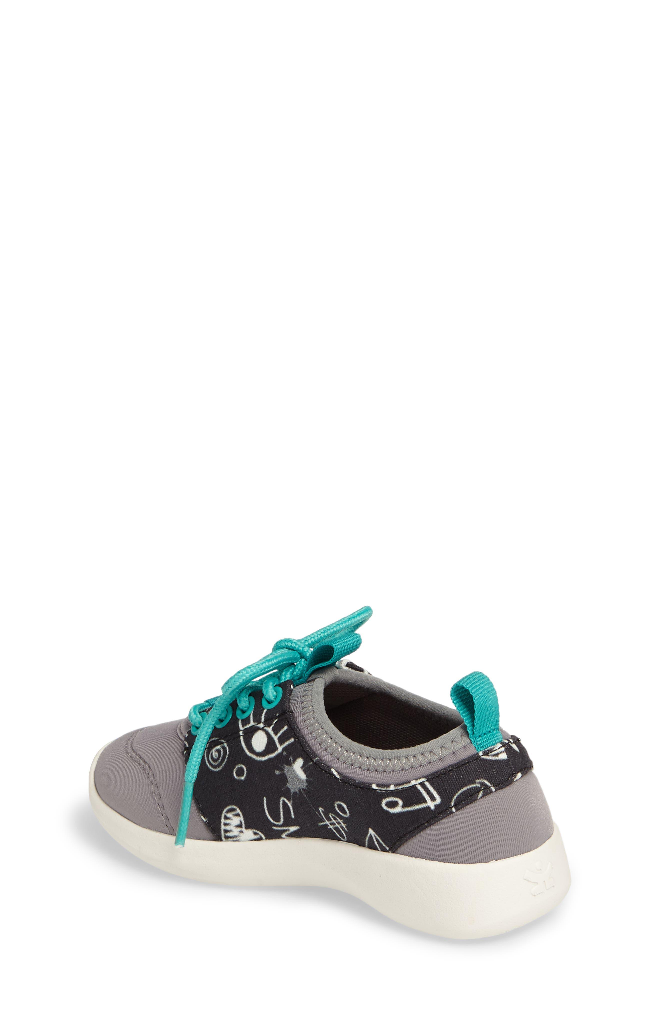 Bolt Sock-Fit Sneaker,                             Alternate thumbnail 2, color,                             001