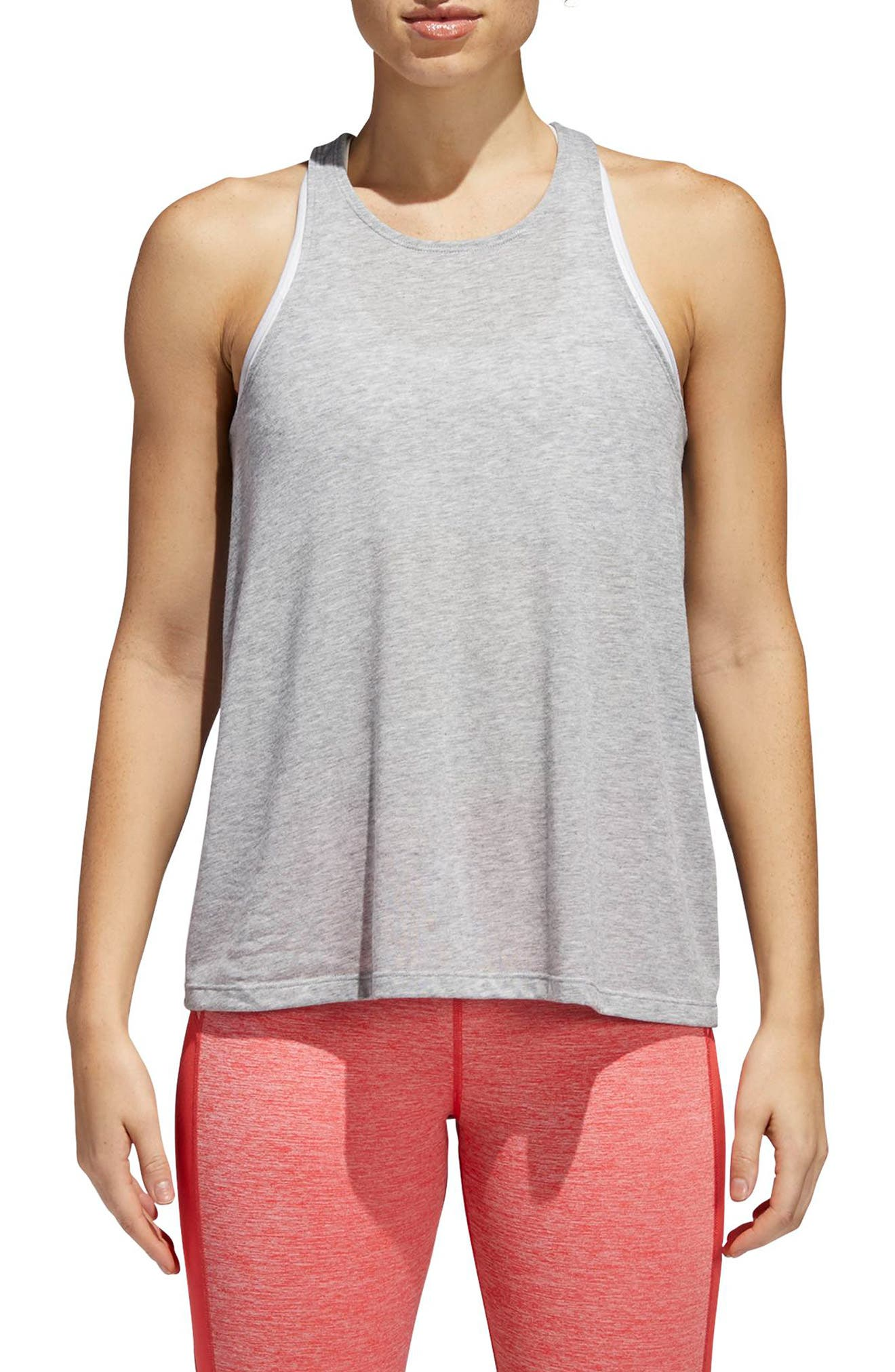 Performer Open Back Tank,                             Main thumbnail 2, color,