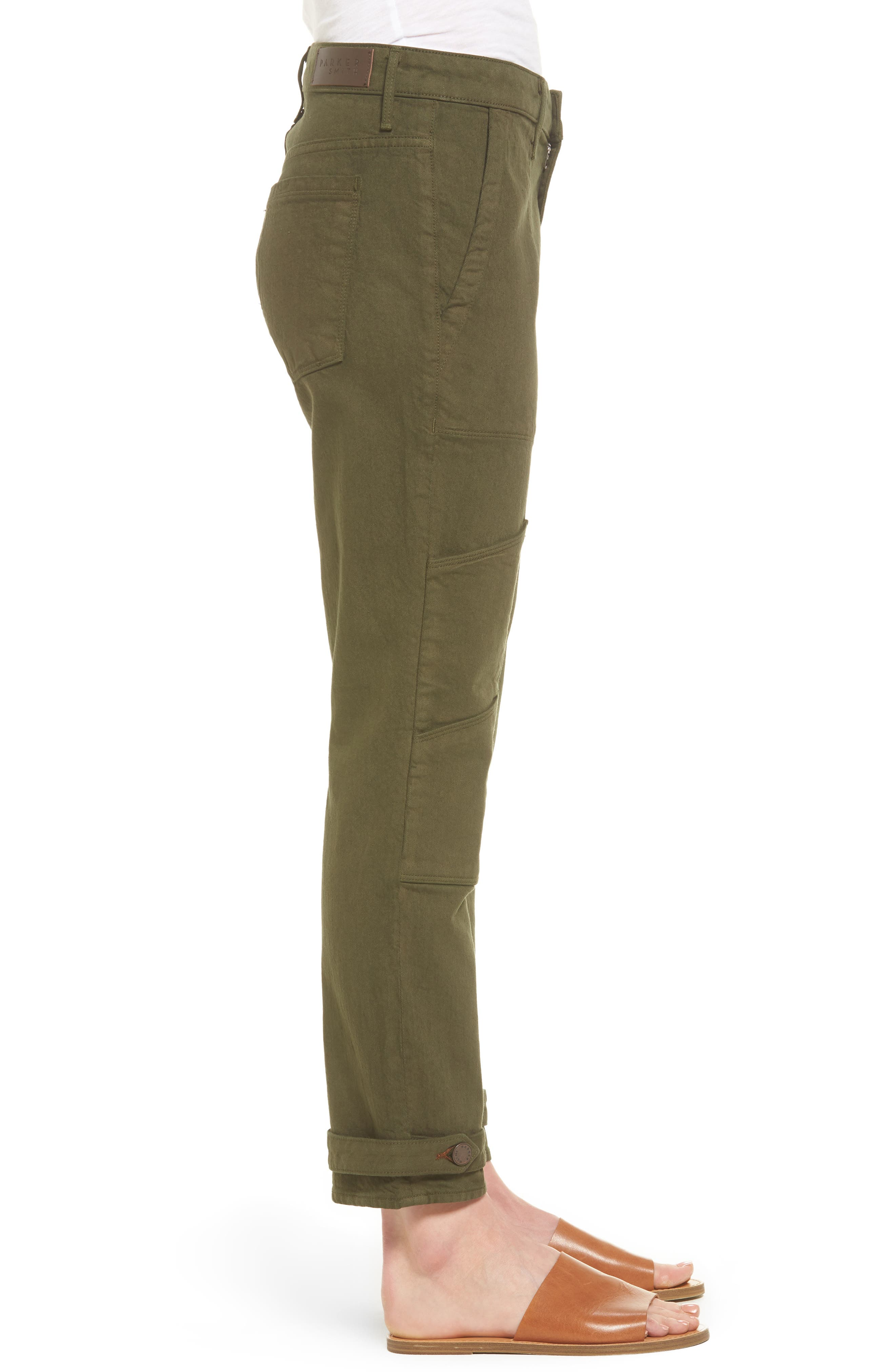 Relaxed Utility Pants,                             Alternate thumbnail 3, color,                             338