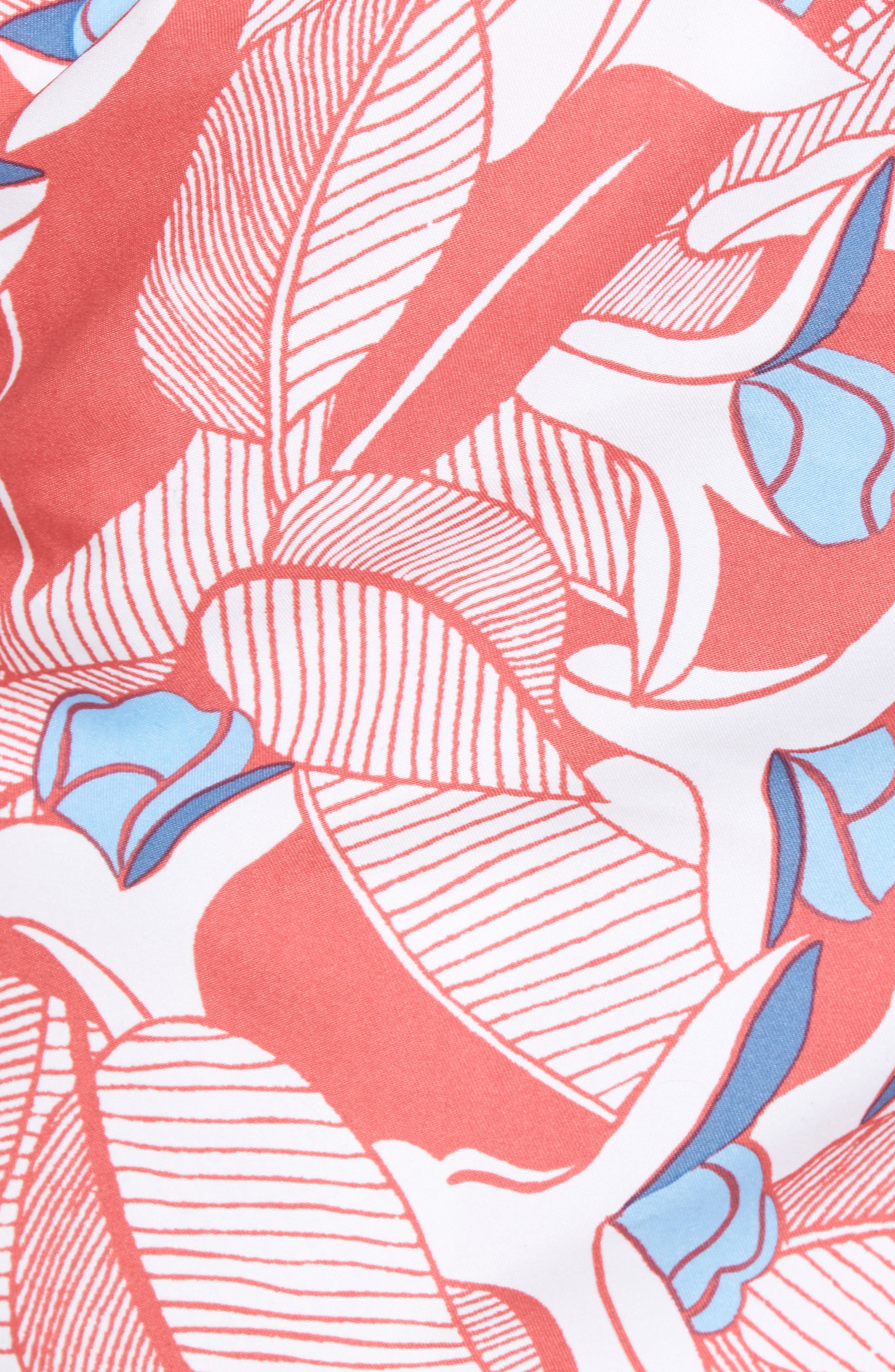 Chappy Floral Swim Trunks,                             Alternate thumbnail 5, color,                             628