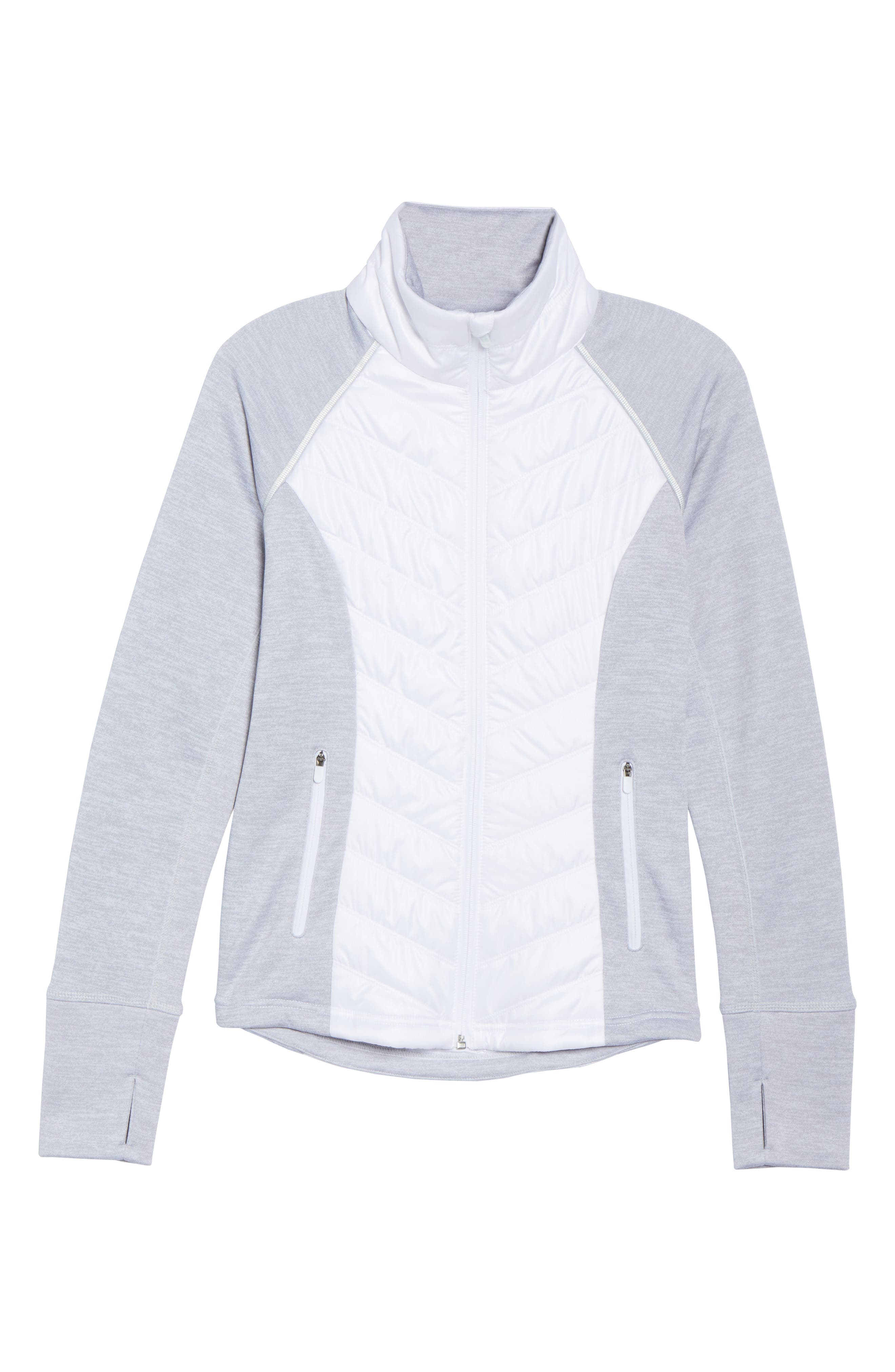 Zelfusion Reflective Quilted Jacket,                             Alternate thumbnail 44, color,