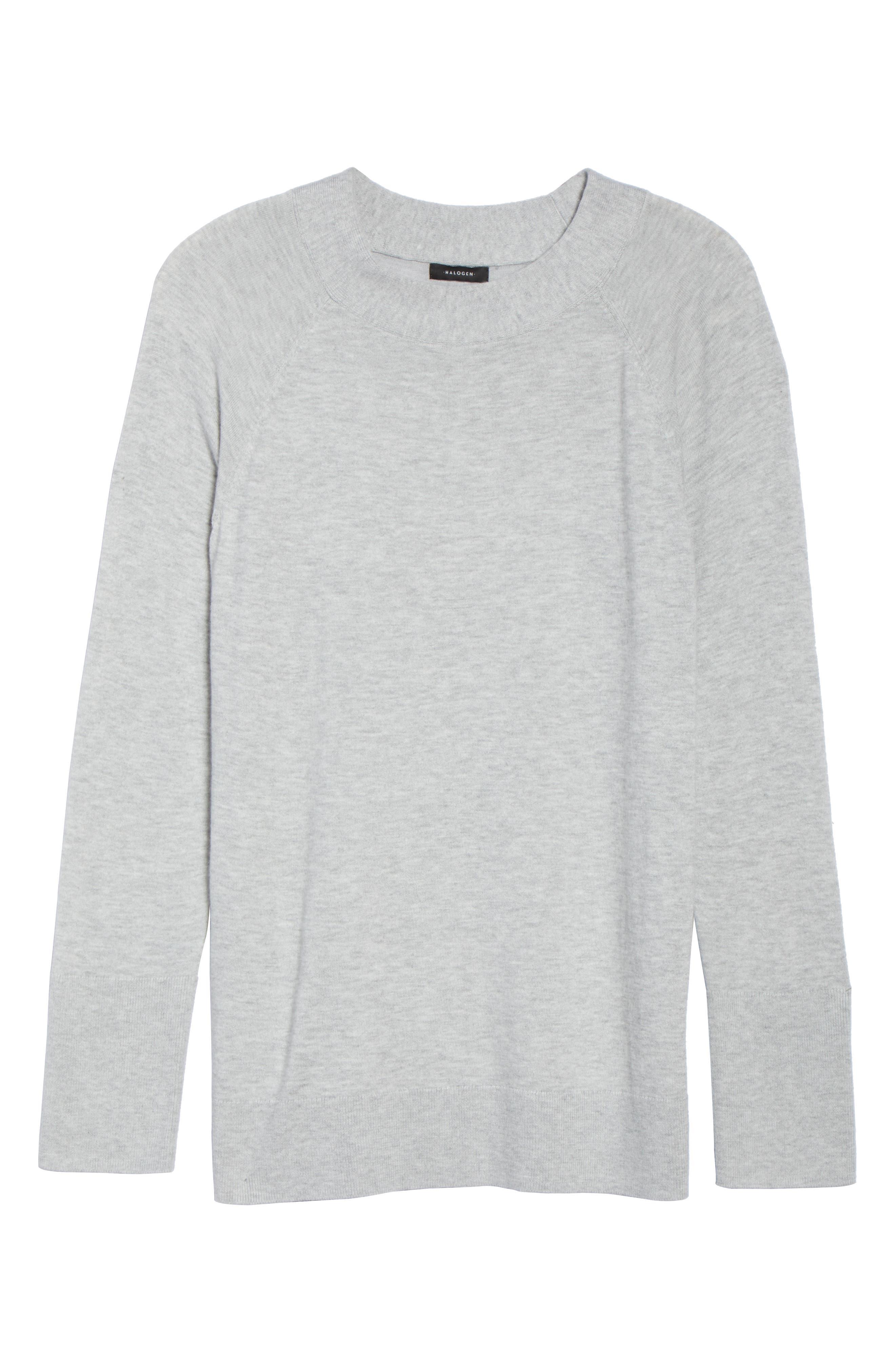Mock Neck Sweater,                             Alternate thumbnail 6, color,                             050