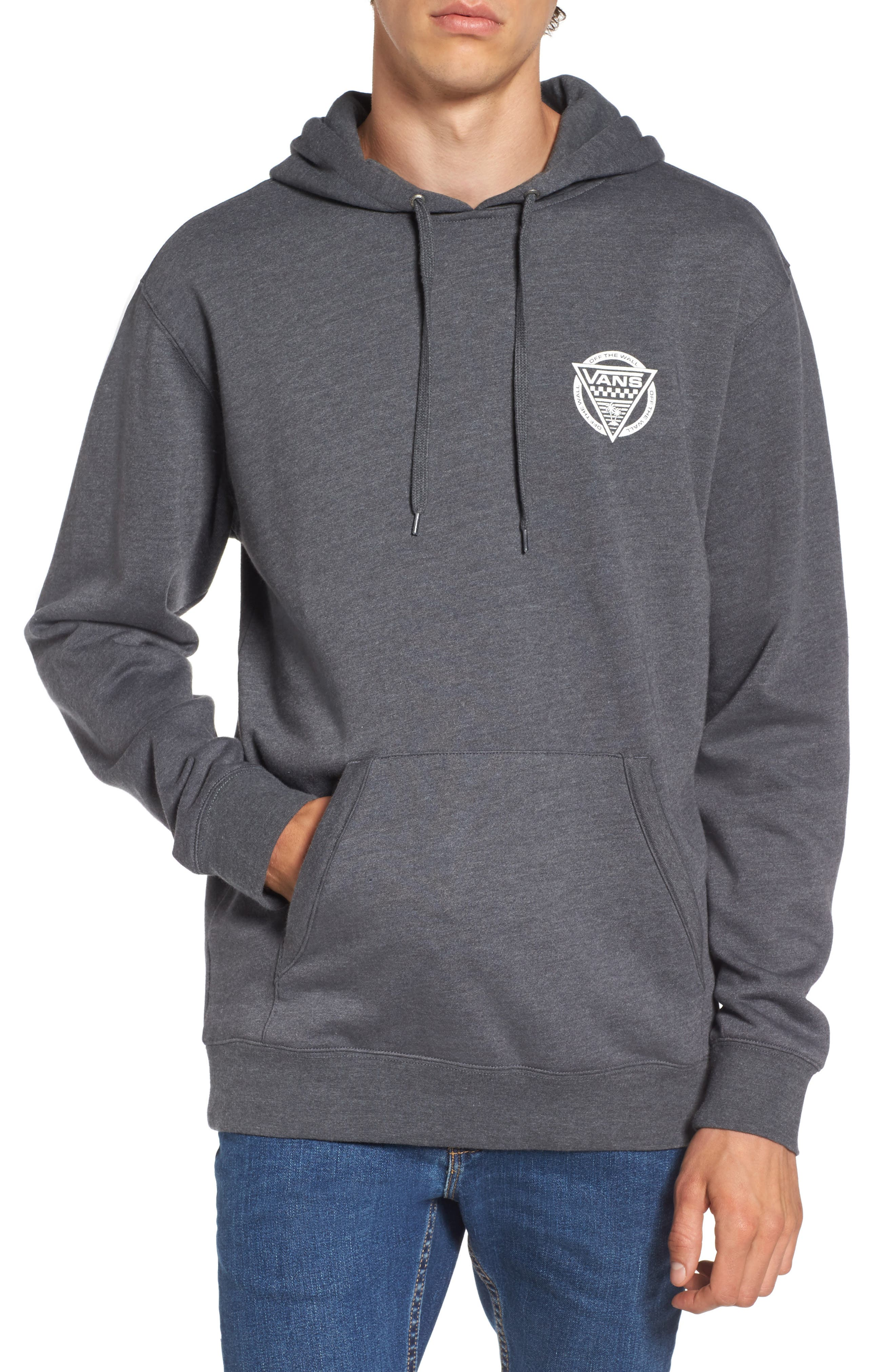 New Oldskool Logo Graphic Pullover Hoodie,                             Main thumbnail 1, color,                             020