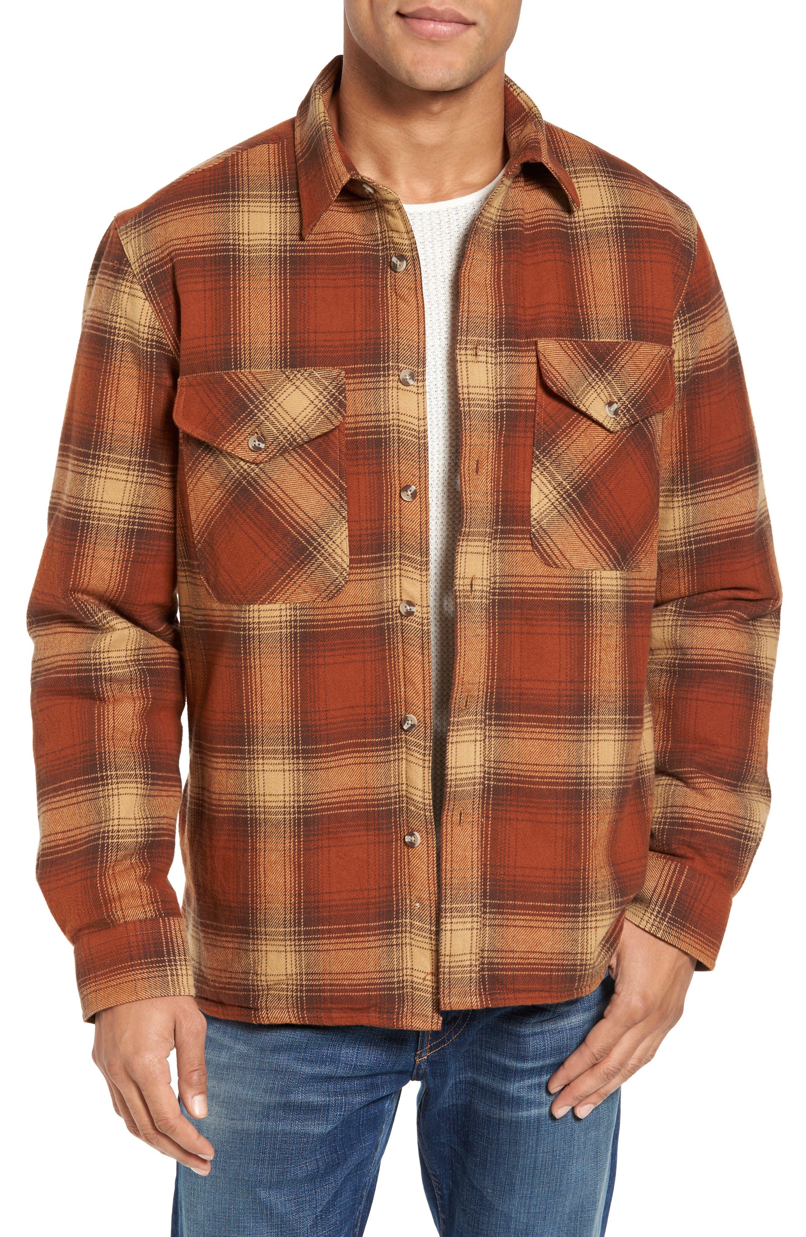 Plaid Shirt Jacket,                             Main thumbnail 1, color,                             200