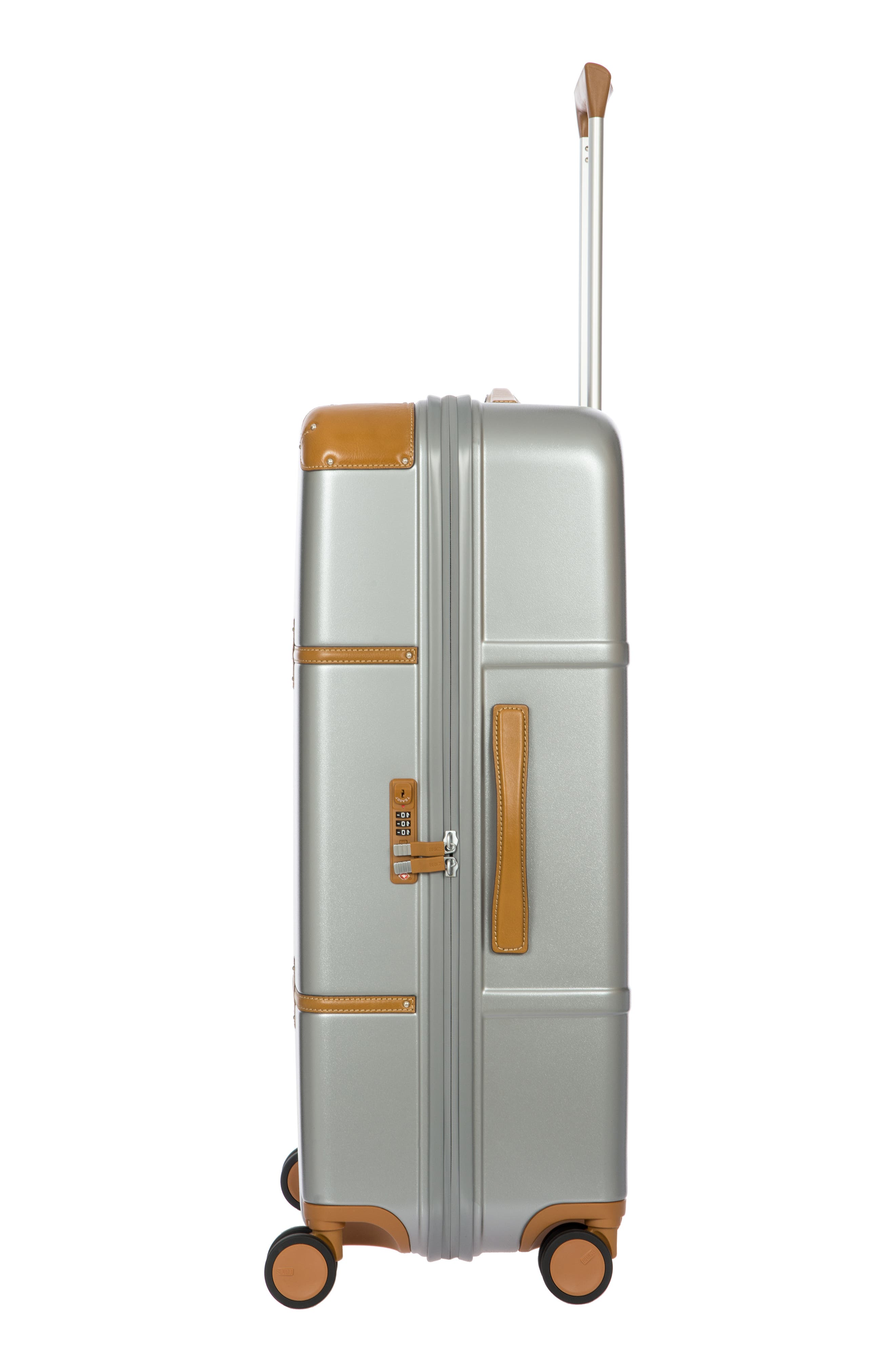 Bellagio 2.0 30-Inch Rolling Spinner Suitcase,                             Alternate thumbnail 3, color,                             SILVER