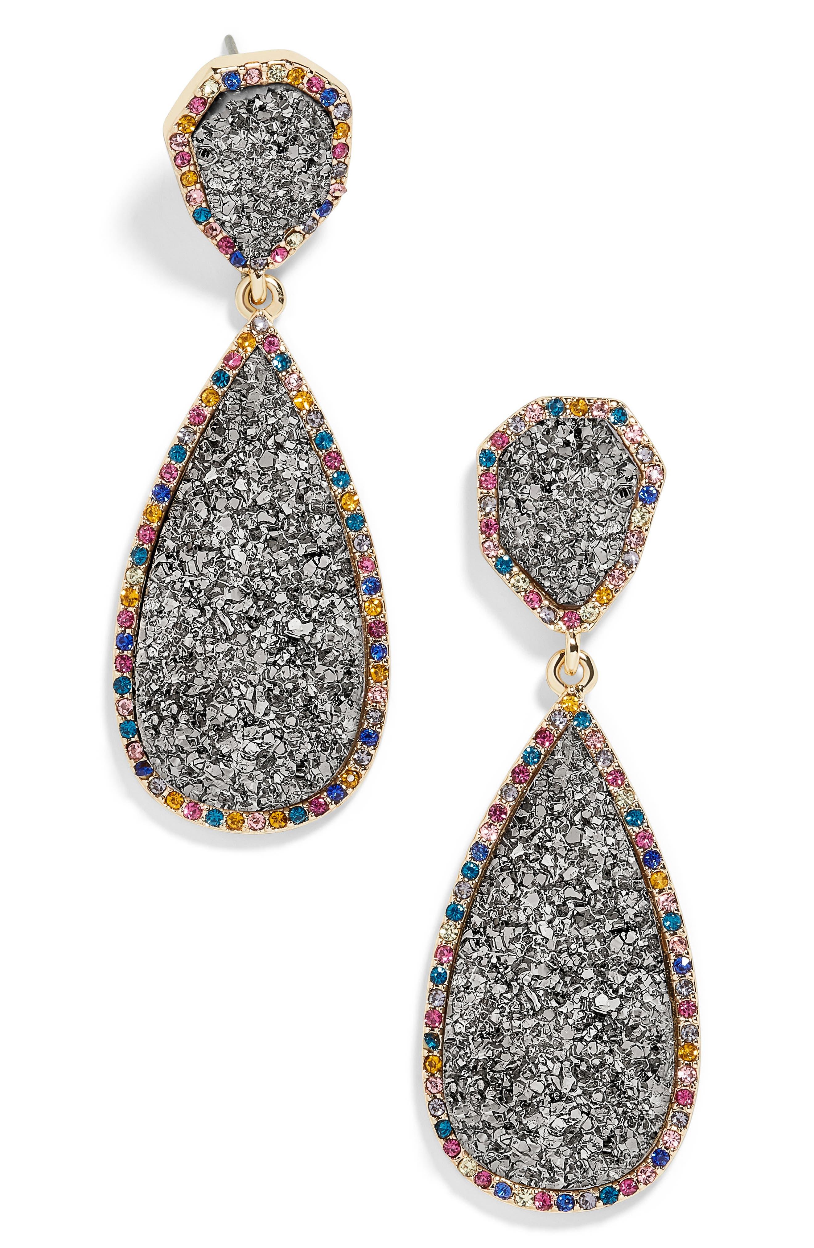 Moonlight Drop Earrings,                         Main,                         color, MULTI/ GOLD