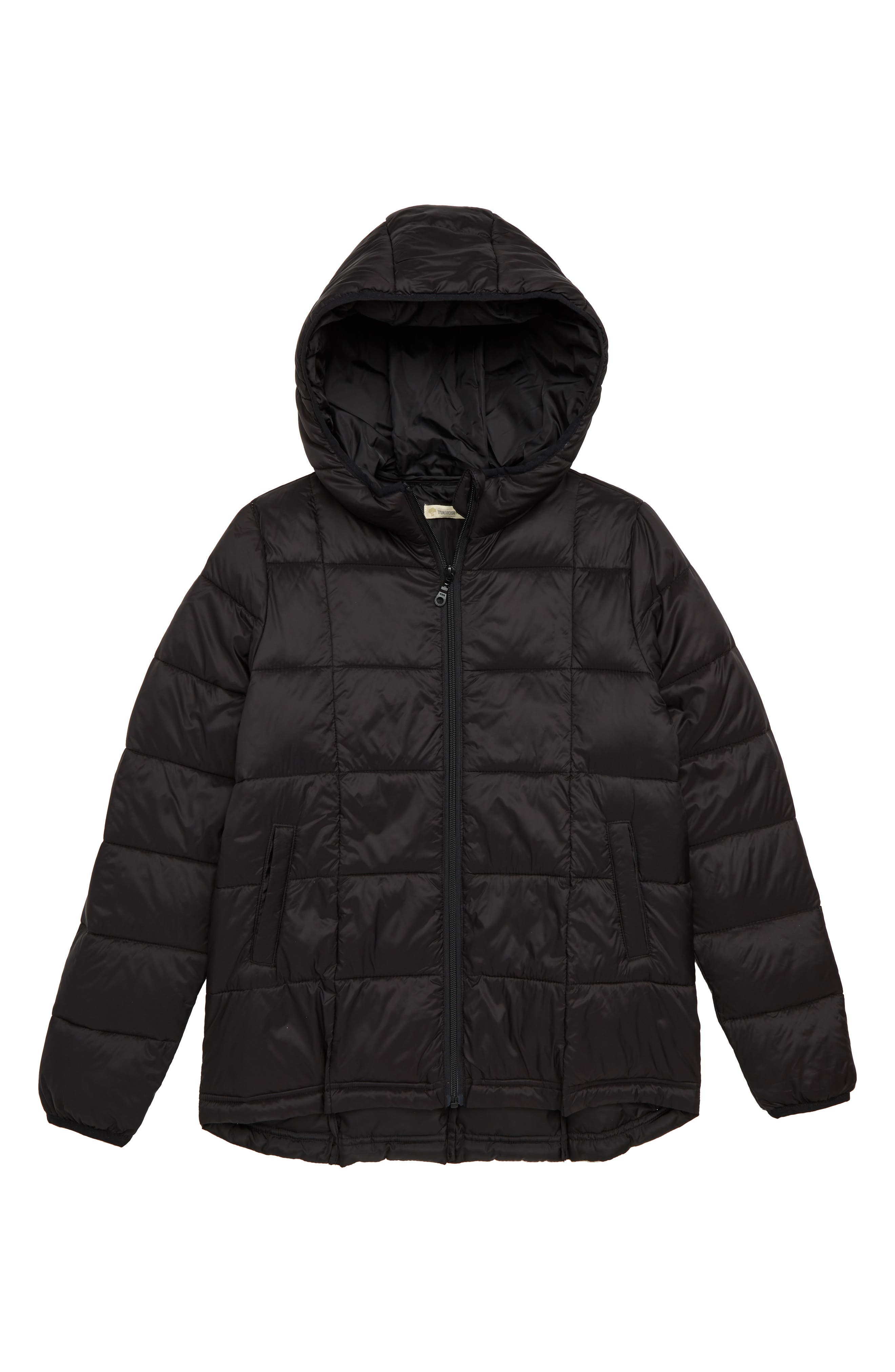 Packable Puffer Jacket,                             Main thumbnail 1, color,                             001