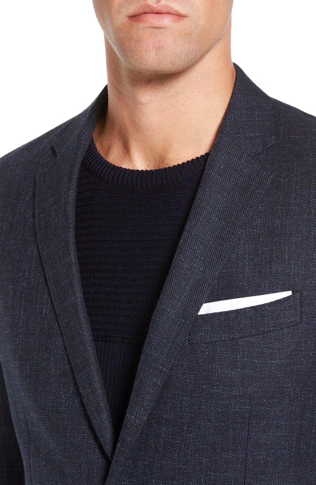 'Heaton' Sports Fit Cotton & Wool Sport Coat,                             Alternate thumbnail 3, color,                             410